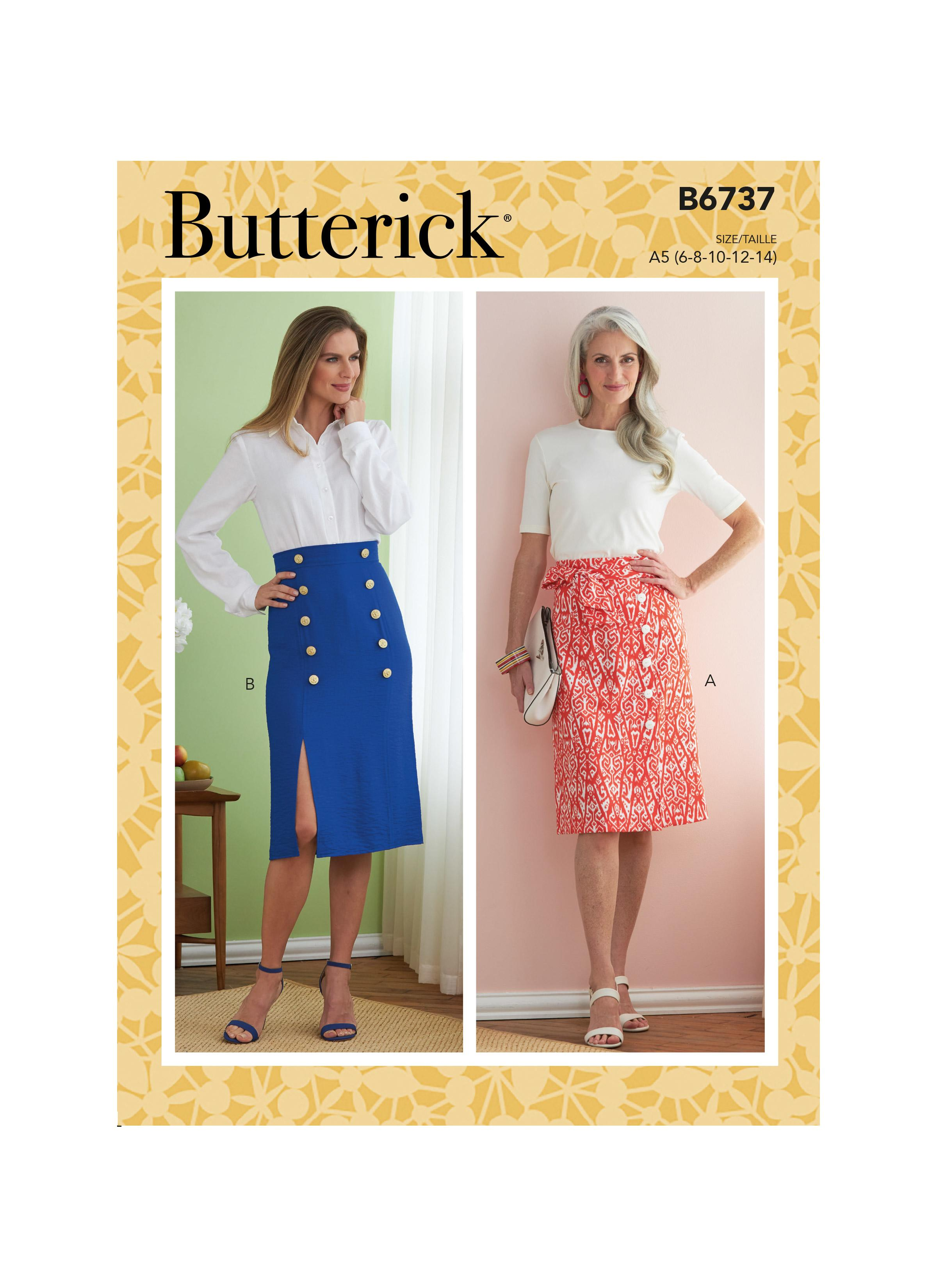 Butterick B6737 Misses' Skirts