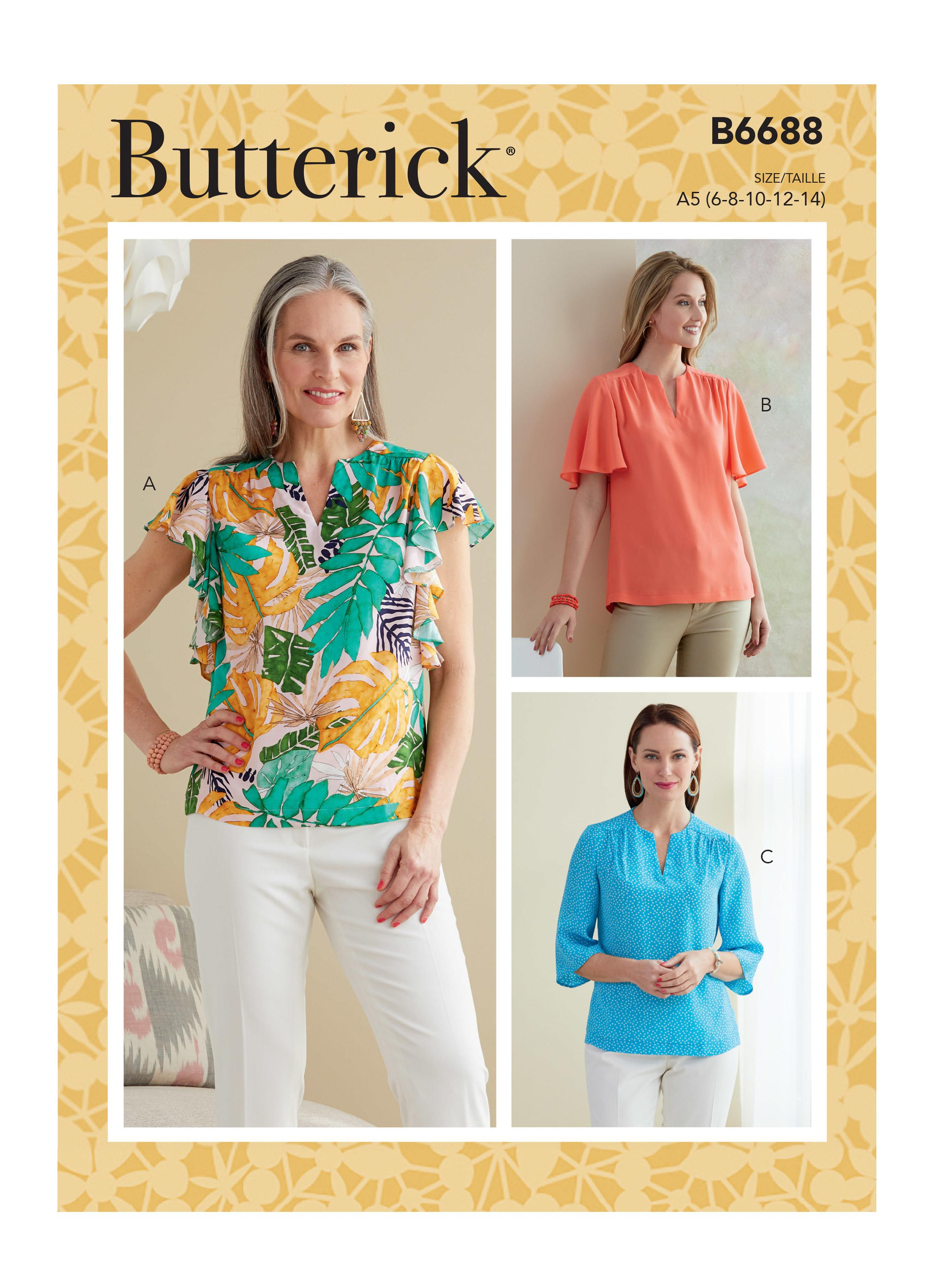 Butterick B6688 Misses' Top