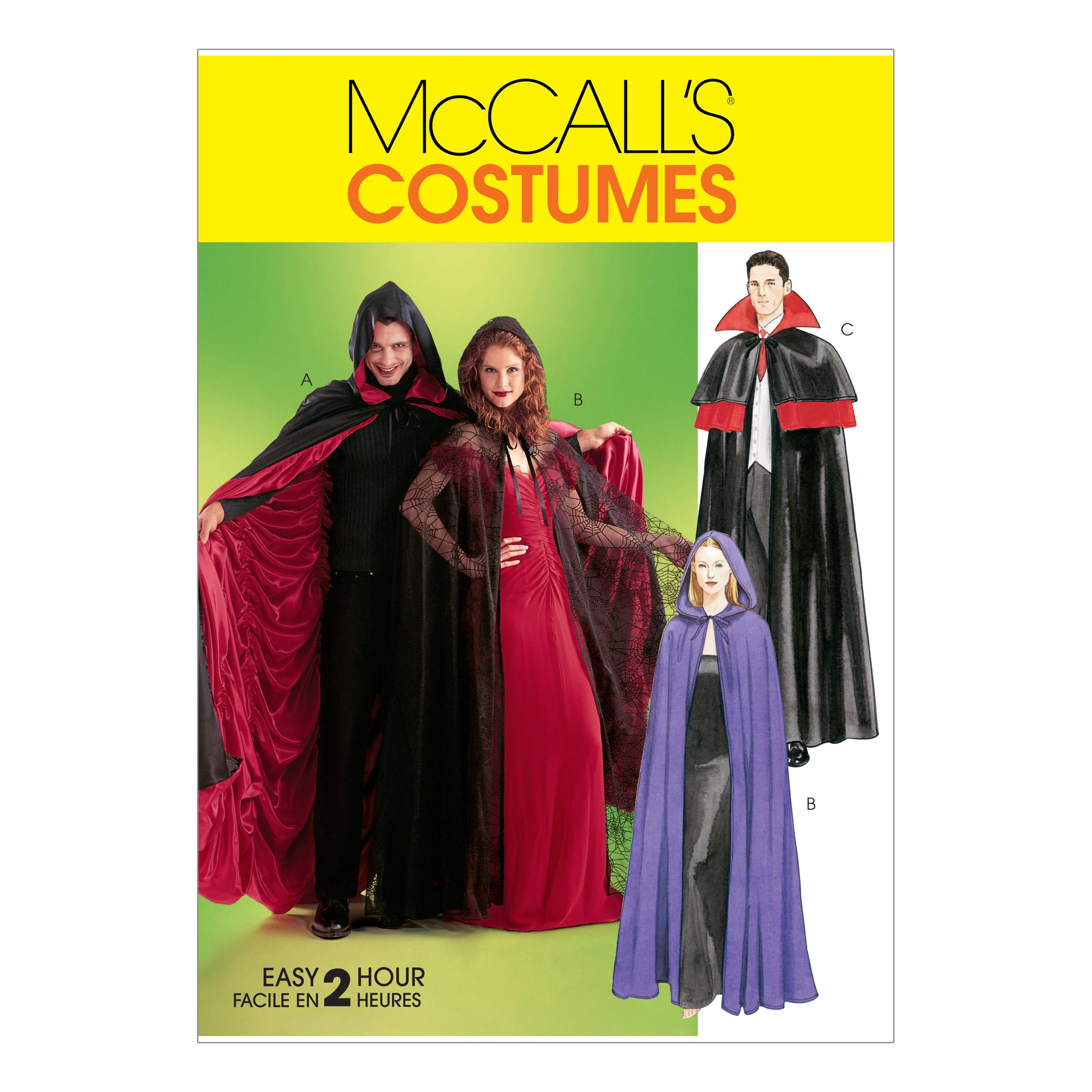 McCalls M4139 Costumes, Halloween