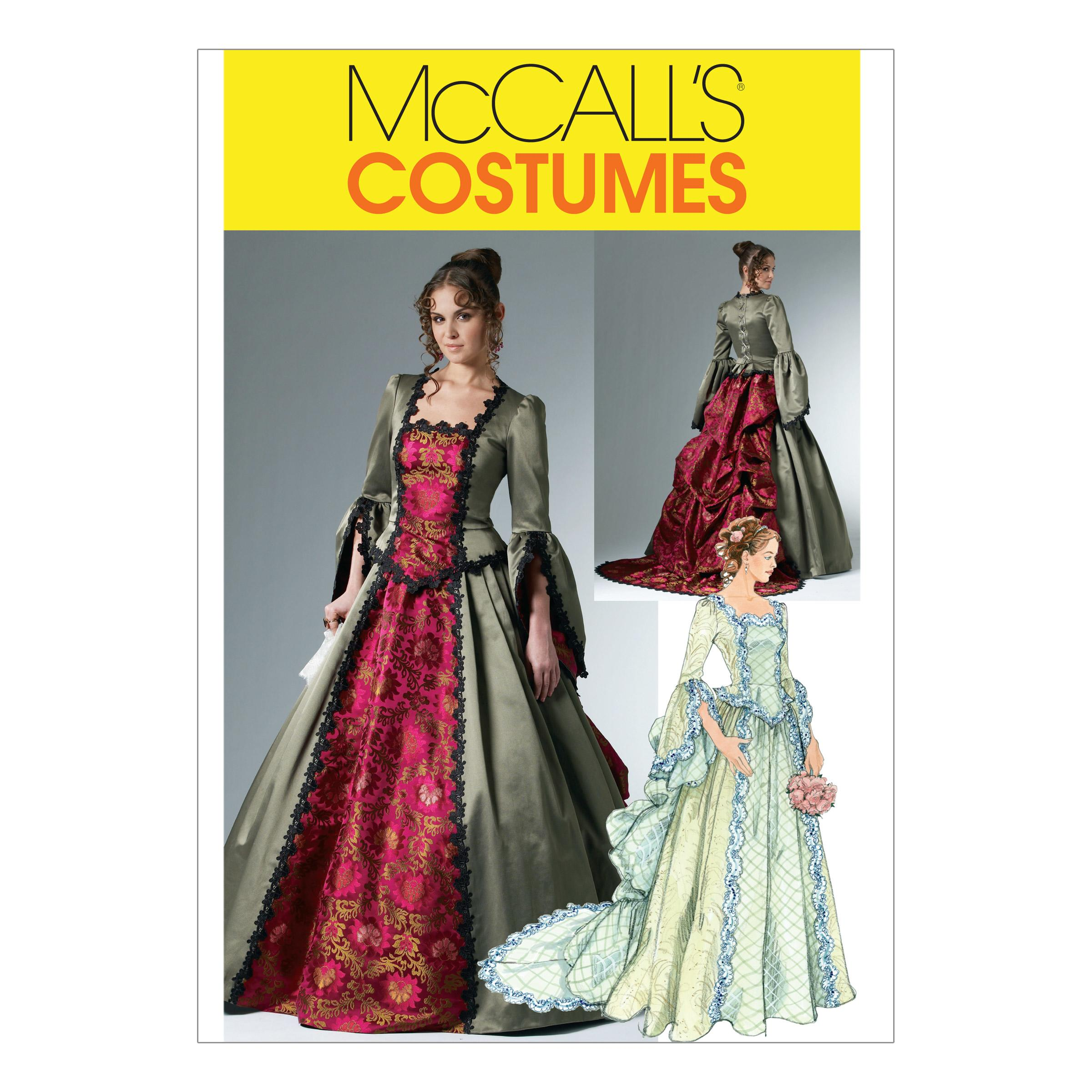 McCalls M6097 Costumes, Halloween, Skirts, Bustles & Petticoats, Tops, Shirts & Tunics