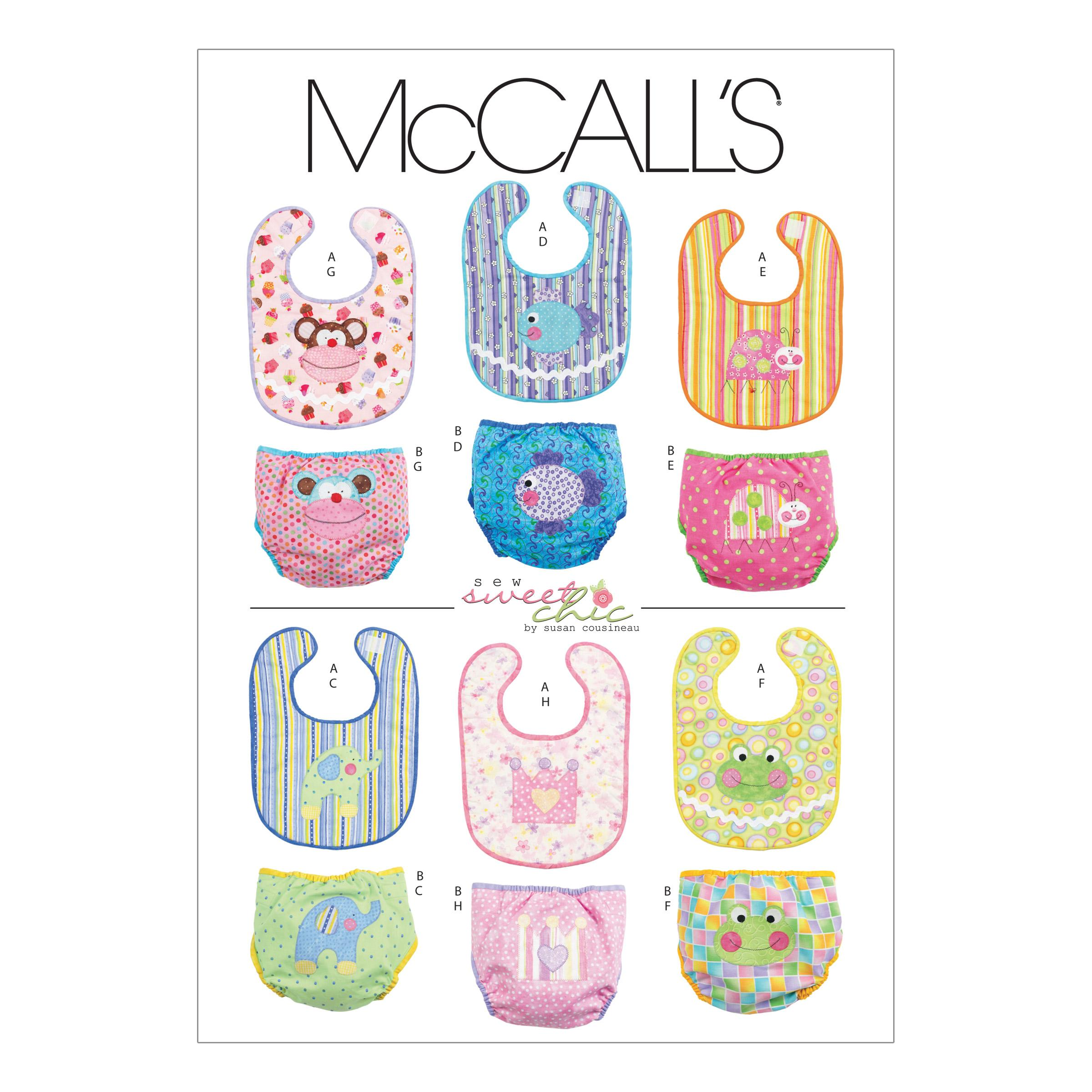 McCalls M6108 Crafts/Dolls/Pets, Infants/Toddlers
