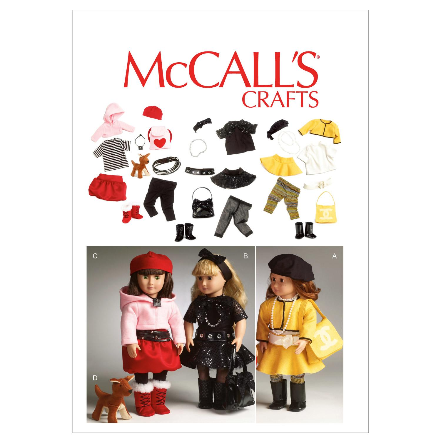 McCalls M6669 Crafts/Dolls/Pets