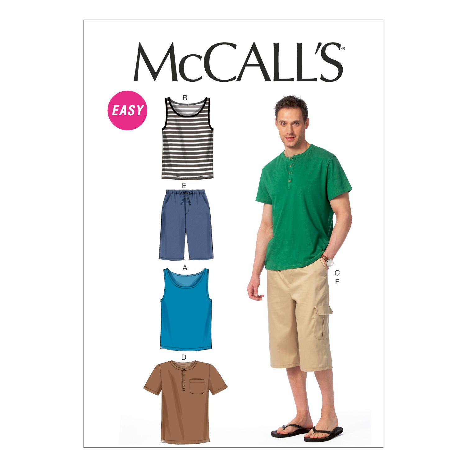 McCalls M6973 Men, Men/Boys