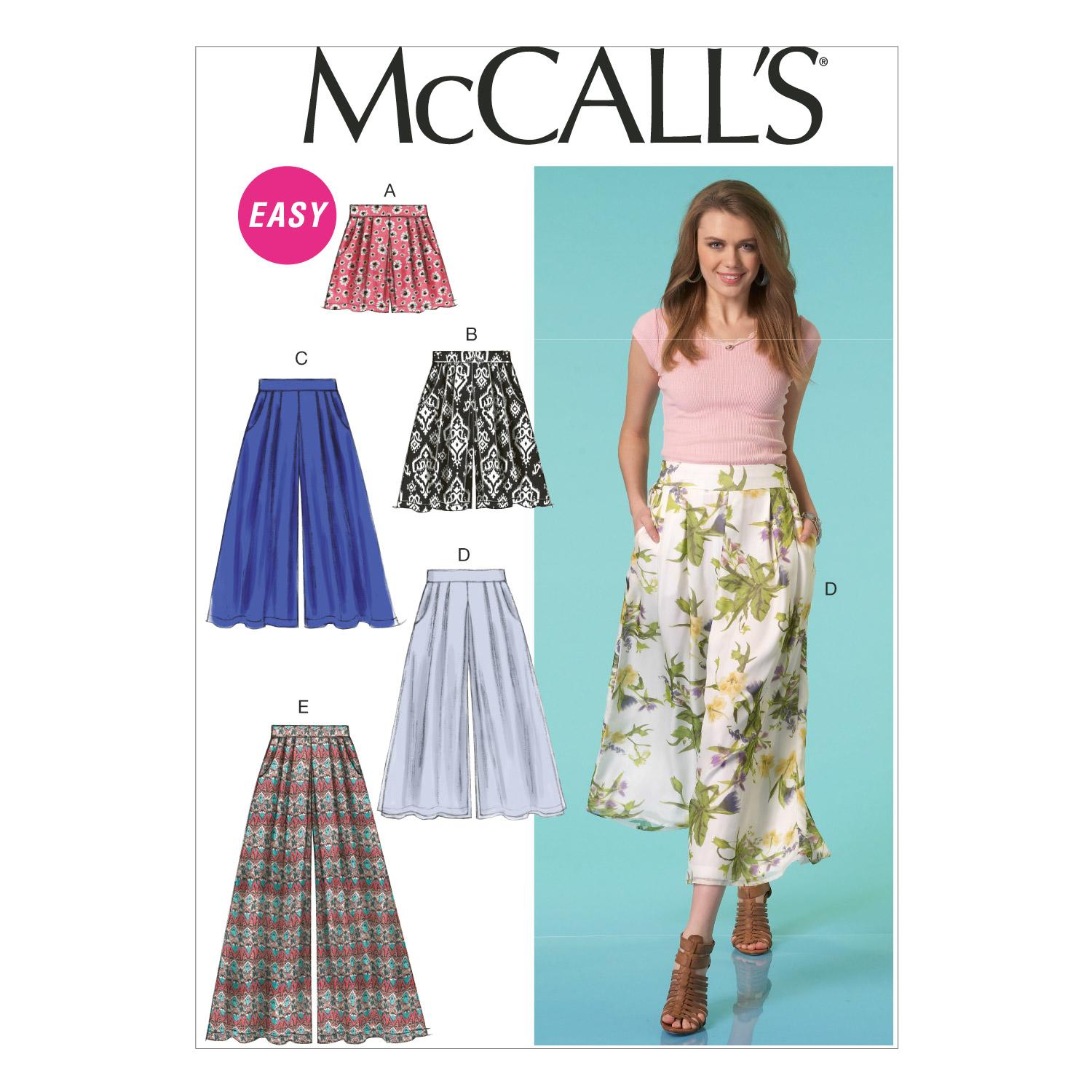 McCalls M7131 Pants/Shorts & Jumpsuits