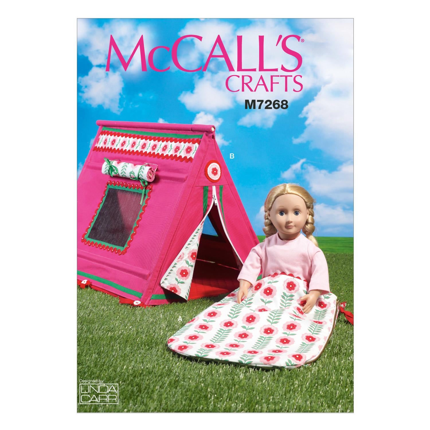 McCalls M7268 Crafts/Dolls/Pets