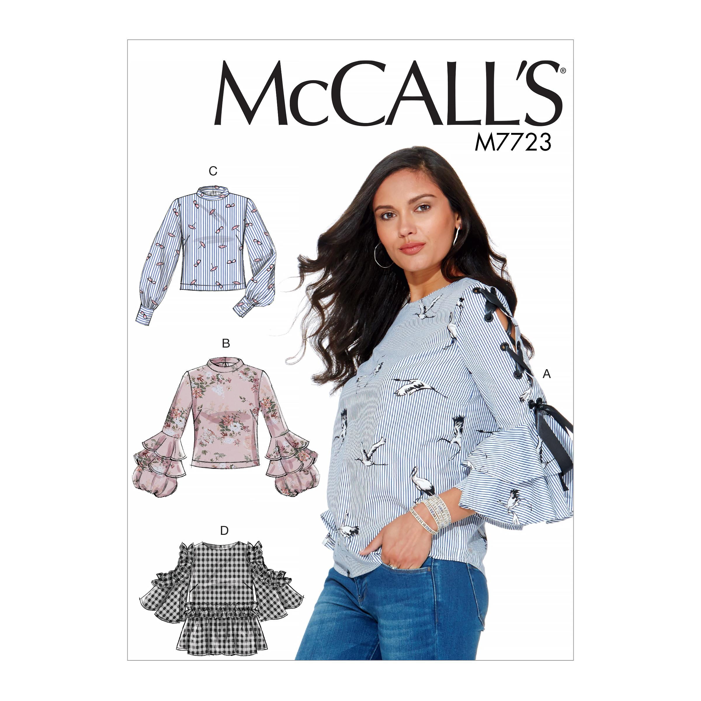 McCalls M7723 Misses Tops