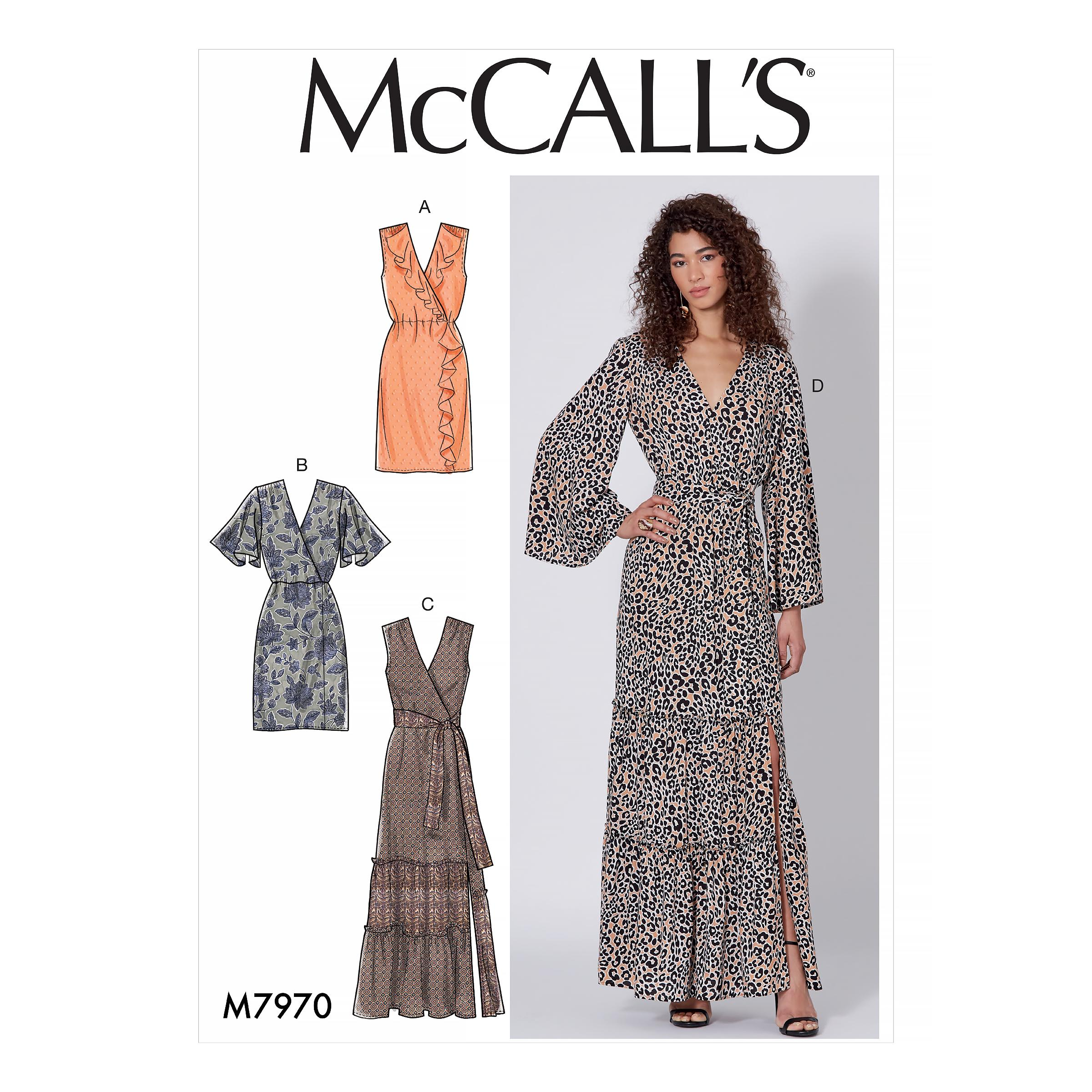 McCalls M7970 Misses Dresses, Misses Prom, Evening & Bridal