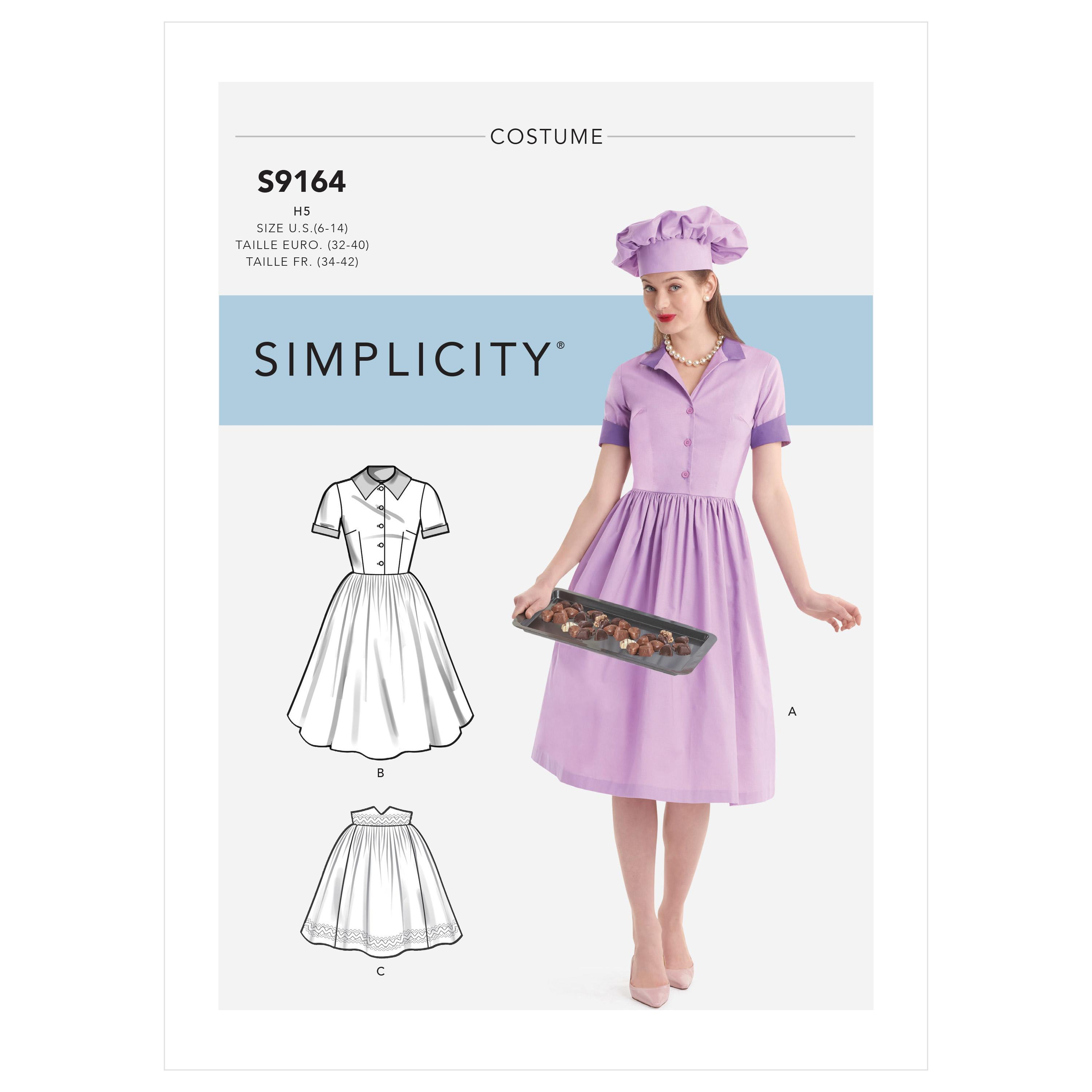 Simplicity S9164 Misses' Costumes