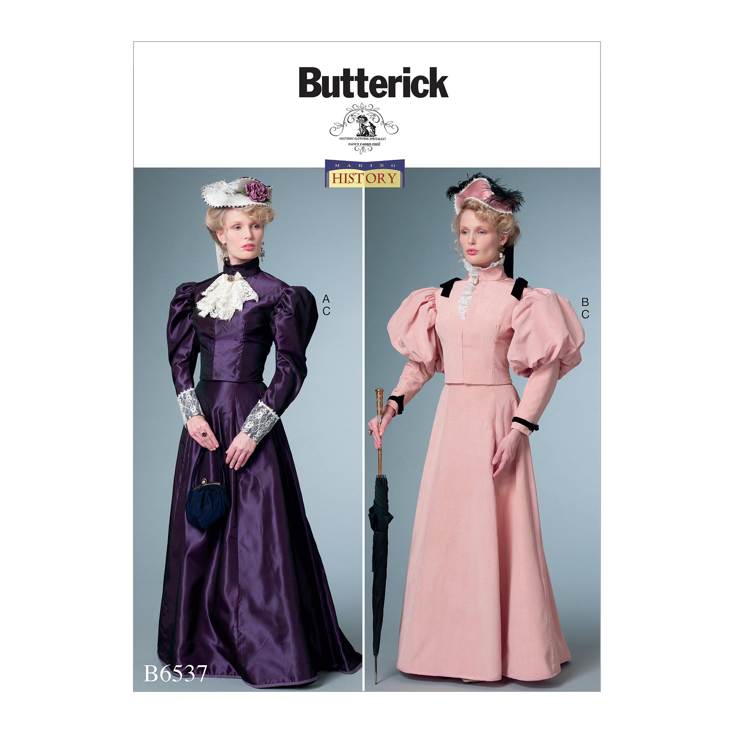 Butterick B6537 Misses' Costume