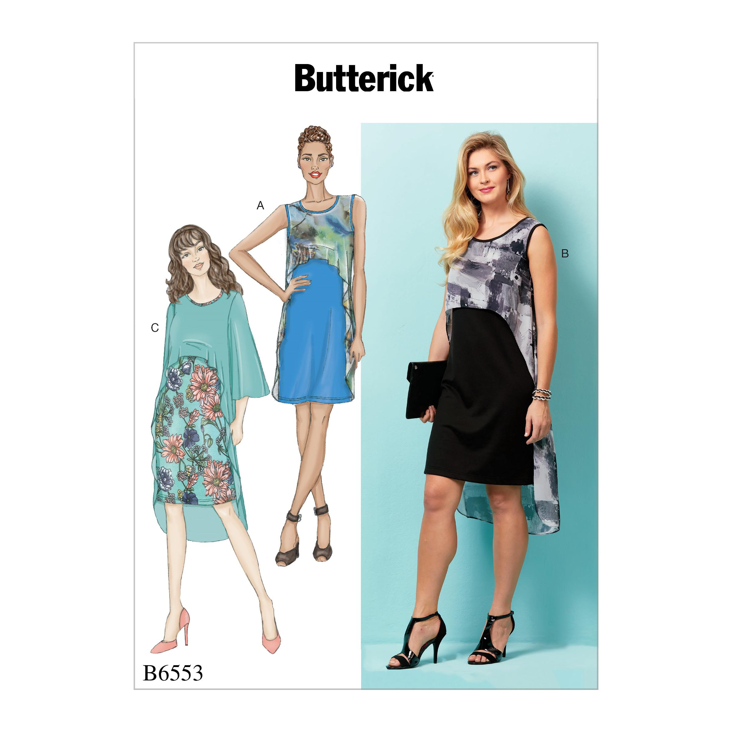 Butterick B6553 Misses' Dress