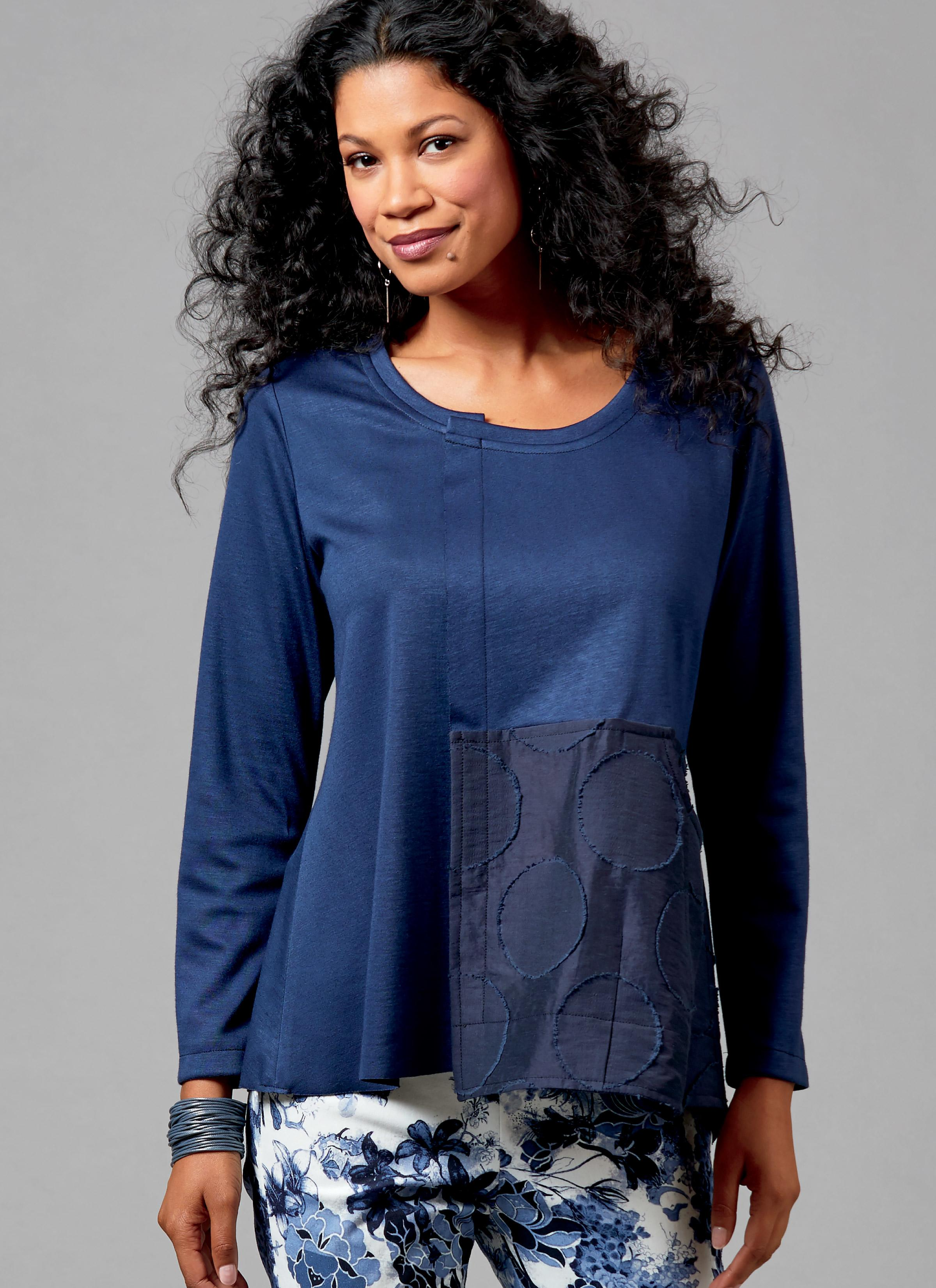 Butterick B6564 Misses' Top