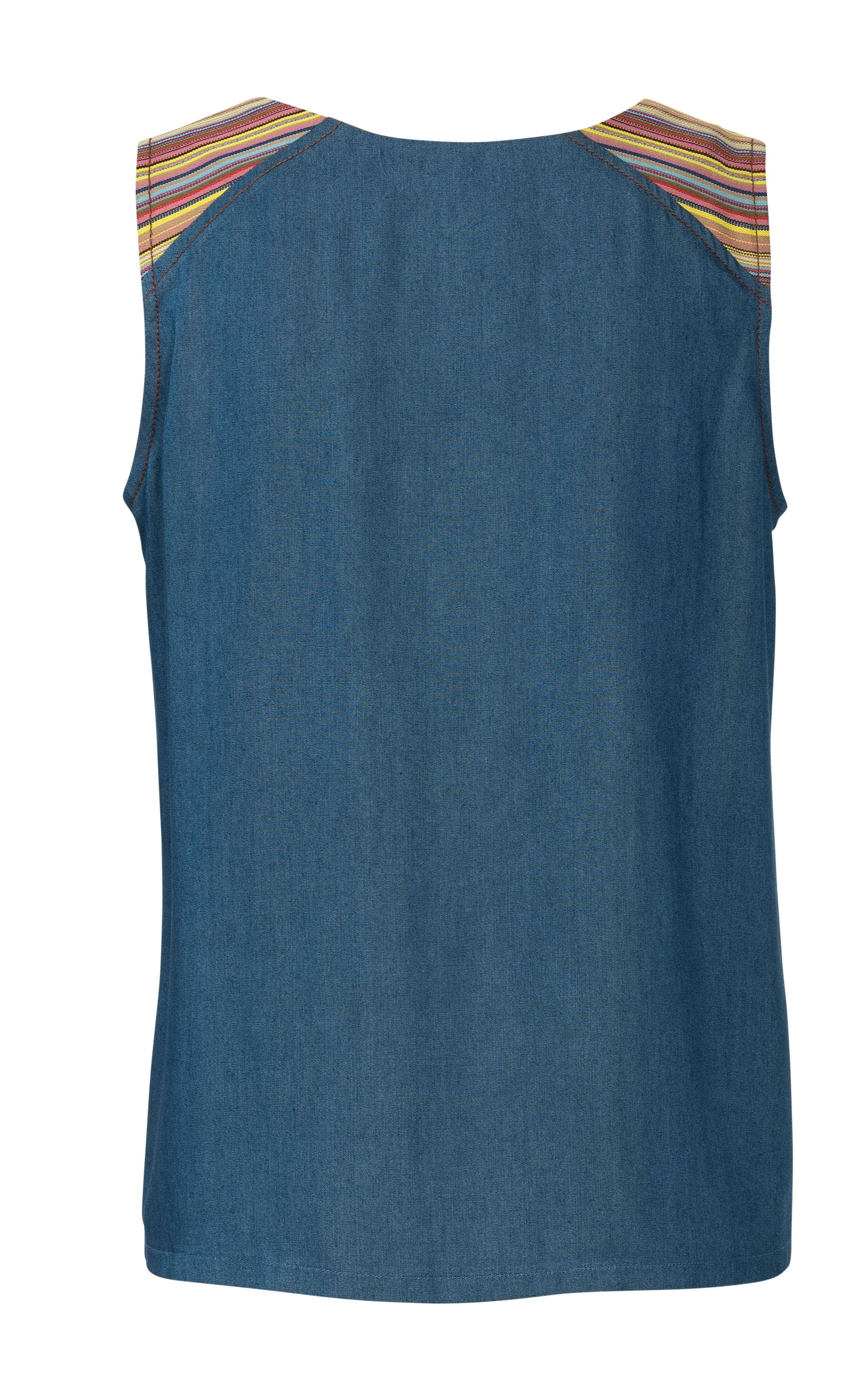 Burda B6201 Tank Top Sewing Pattern