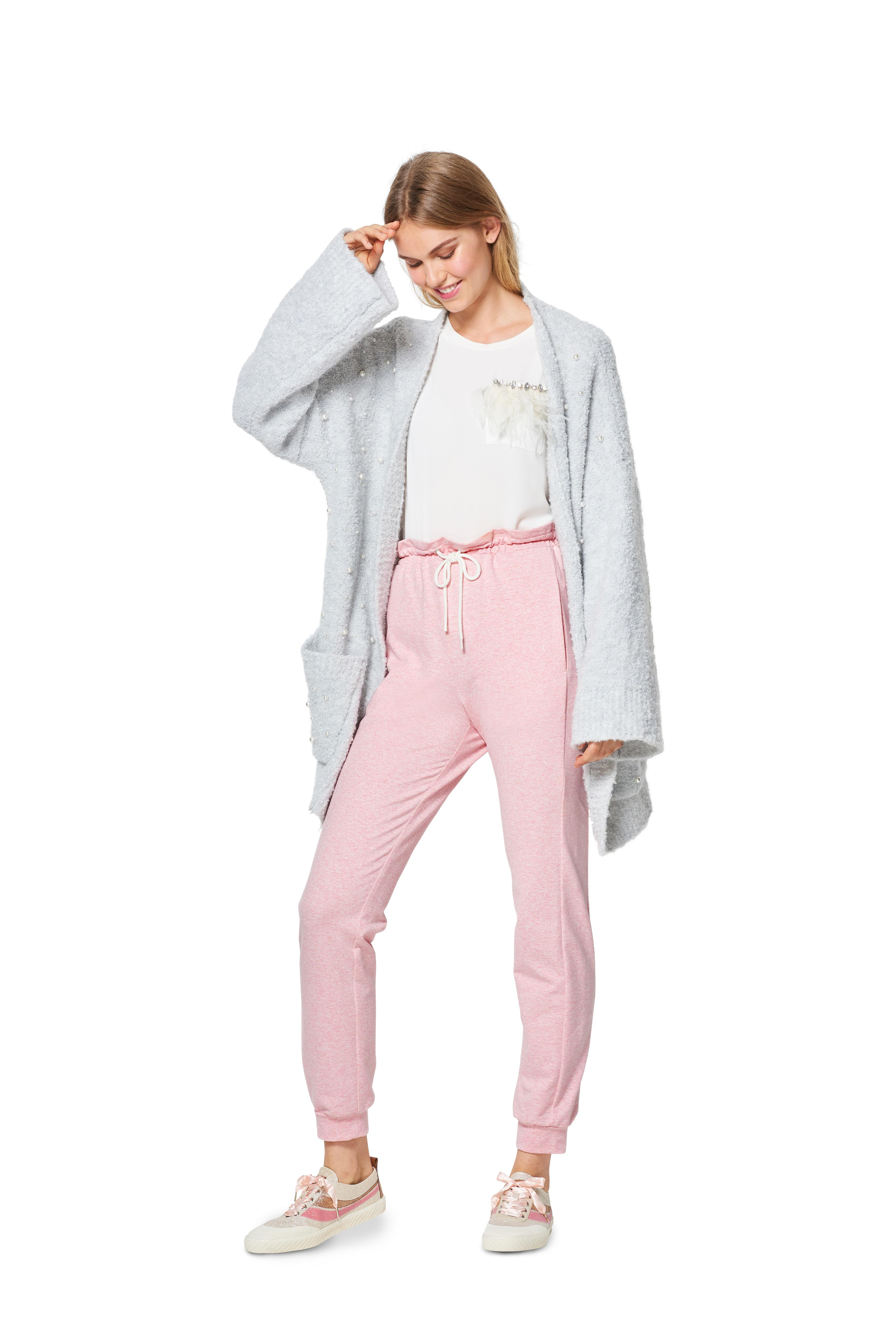 Burda 6317 Misses' jogging pull on pant