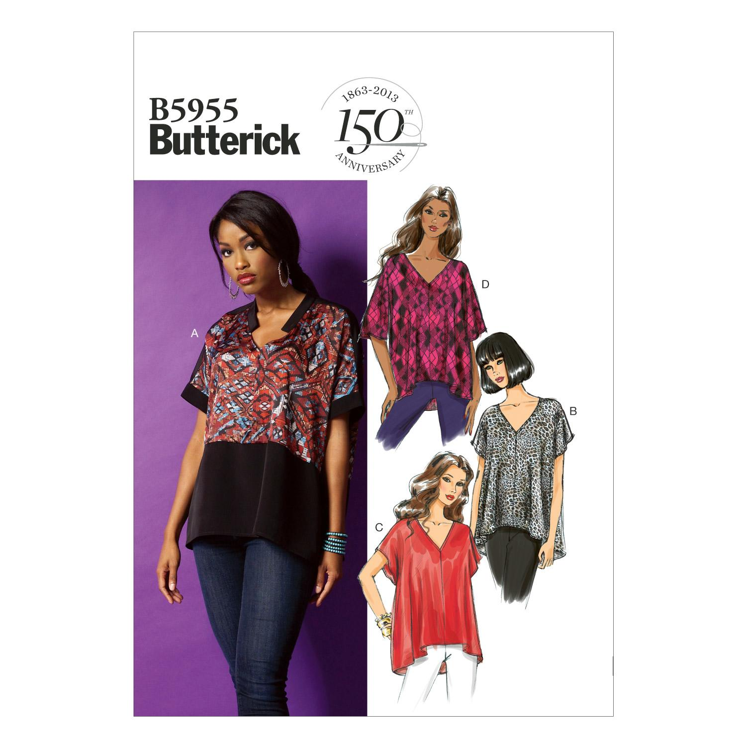 Butterick B5955 Misses' Top