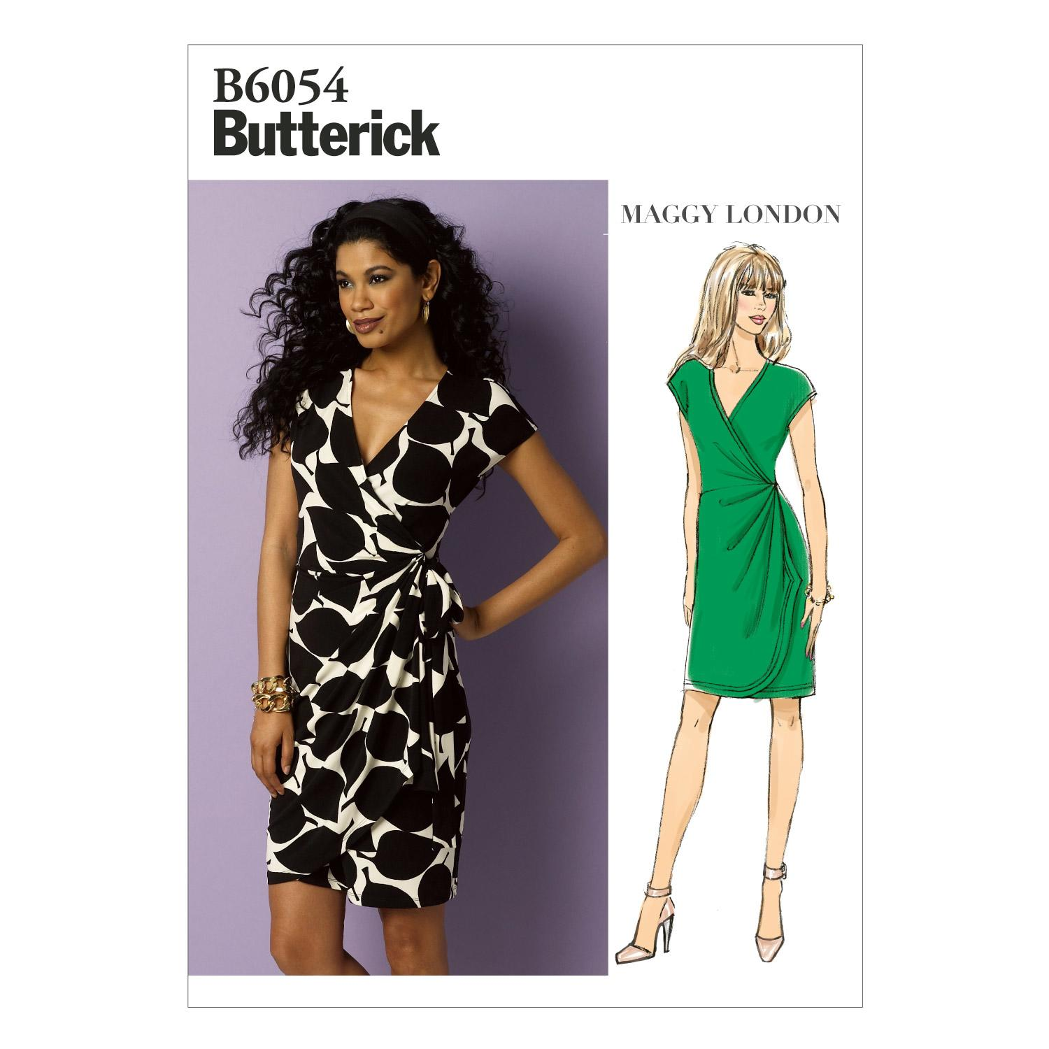 Butterick B6054 Misses' Dress