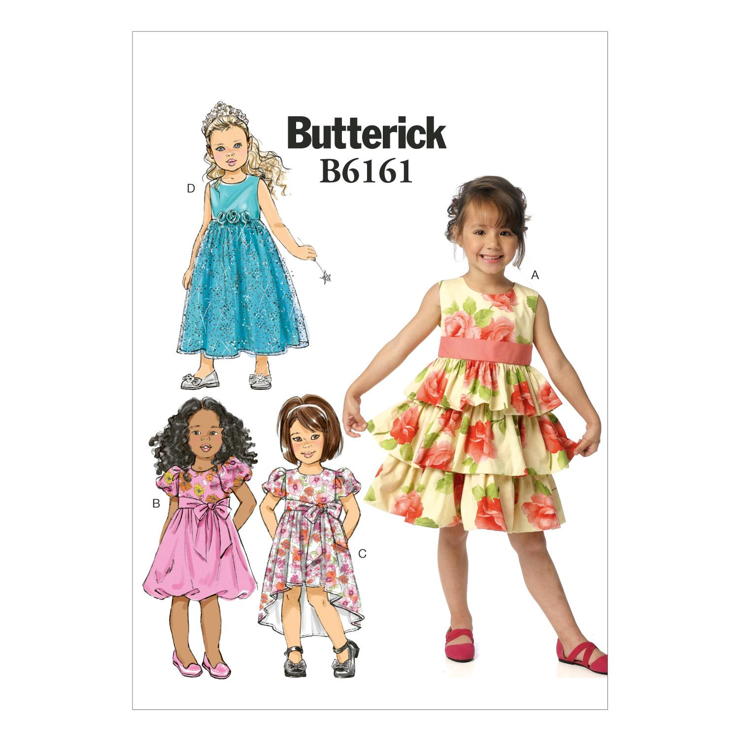 Butterick B6161 Children's/Girls' Dress