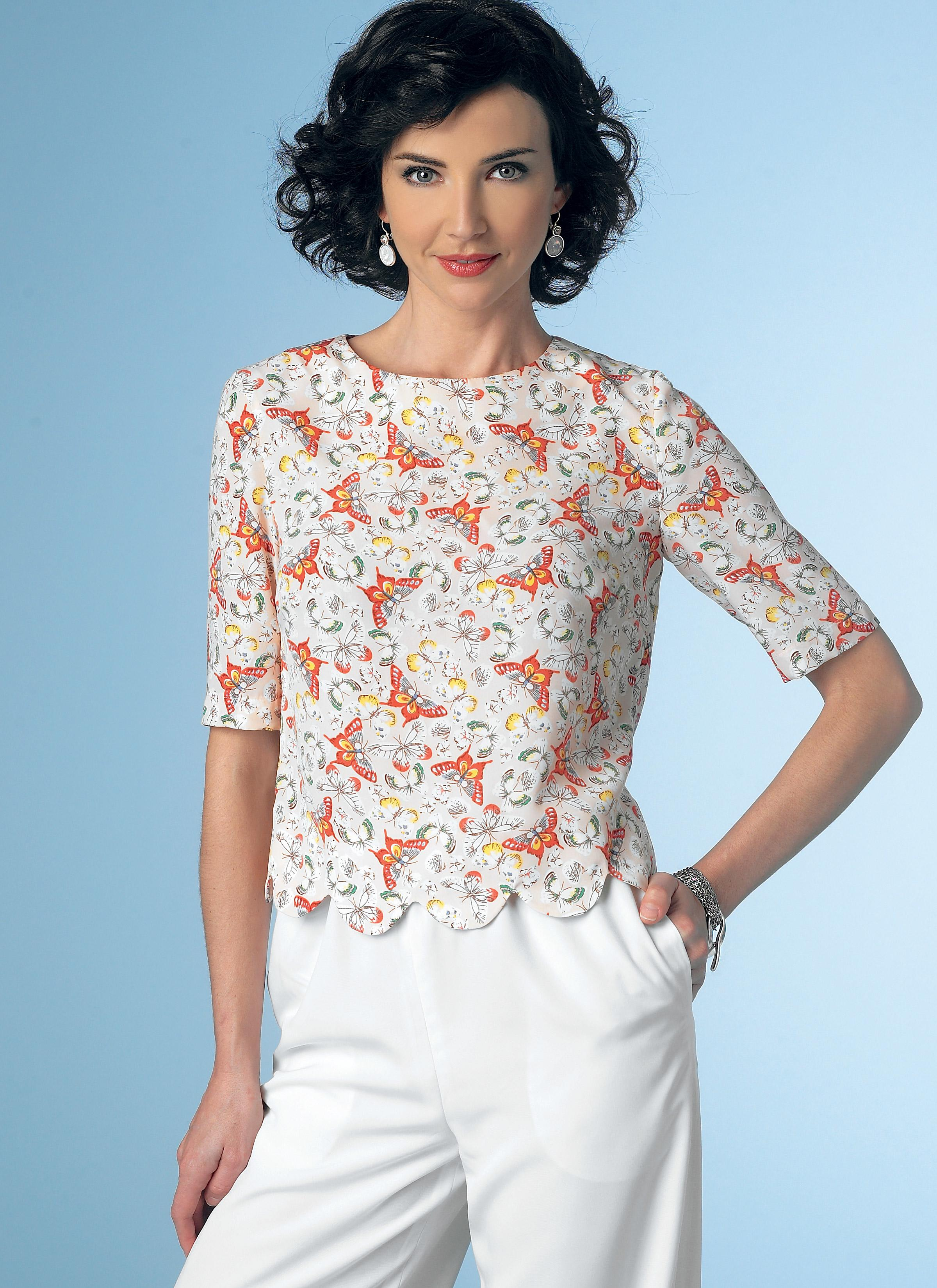 Butterick B6175 Misses' Top