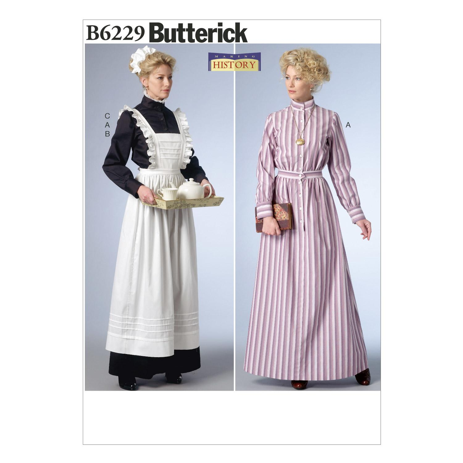 Butterick B6229 Misses' Costume
