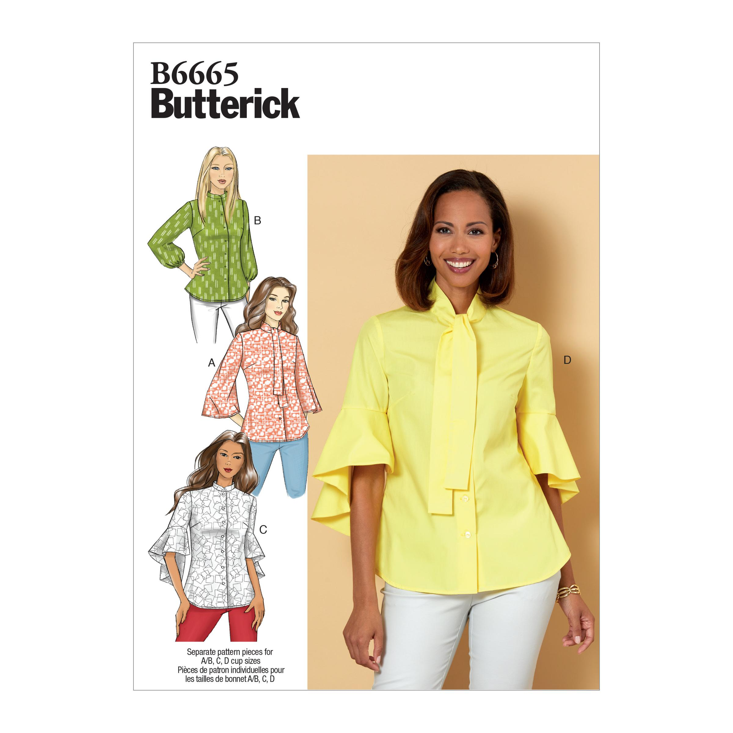 Butterick B6665 Misses' Top