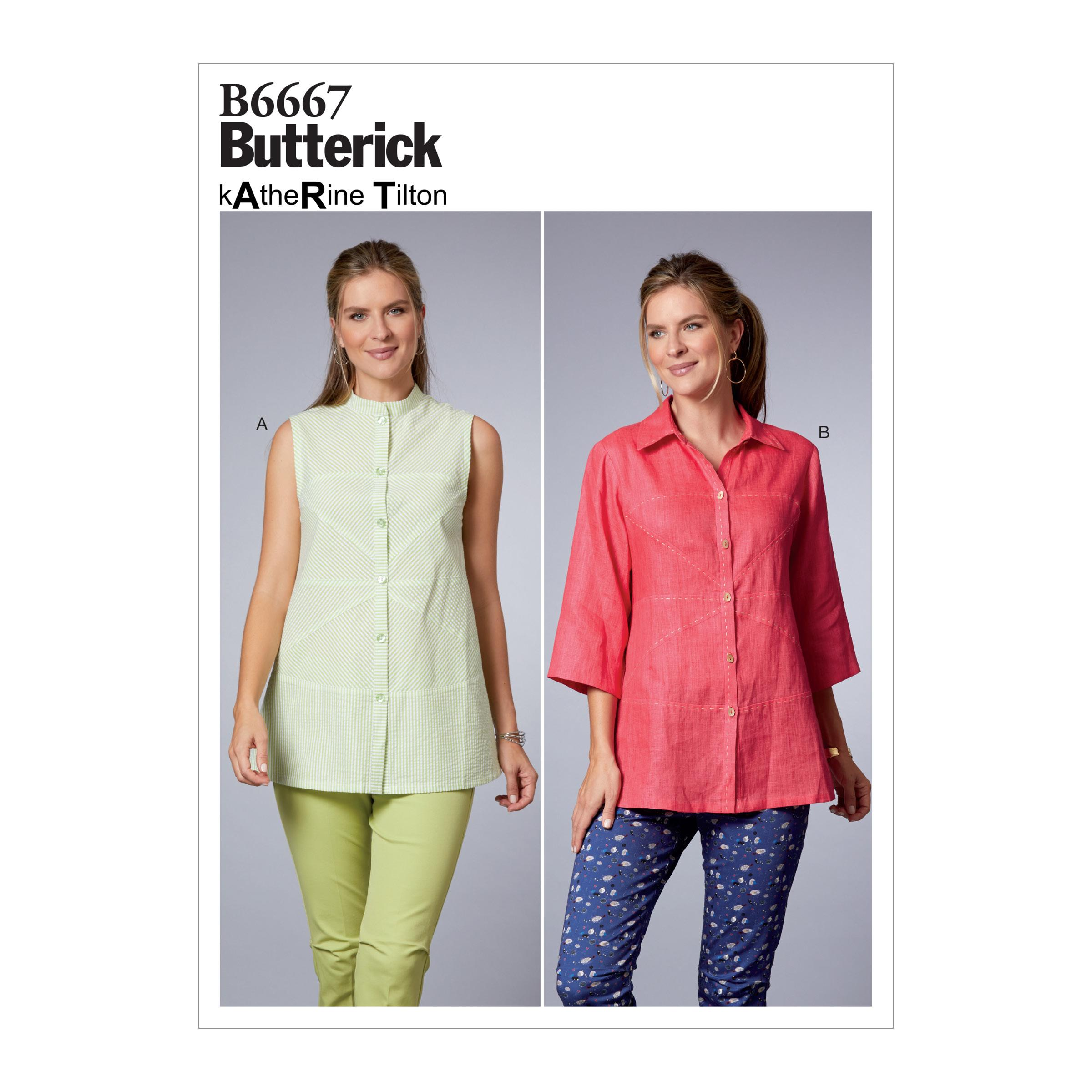 Butterick B6667 Misses' Top
