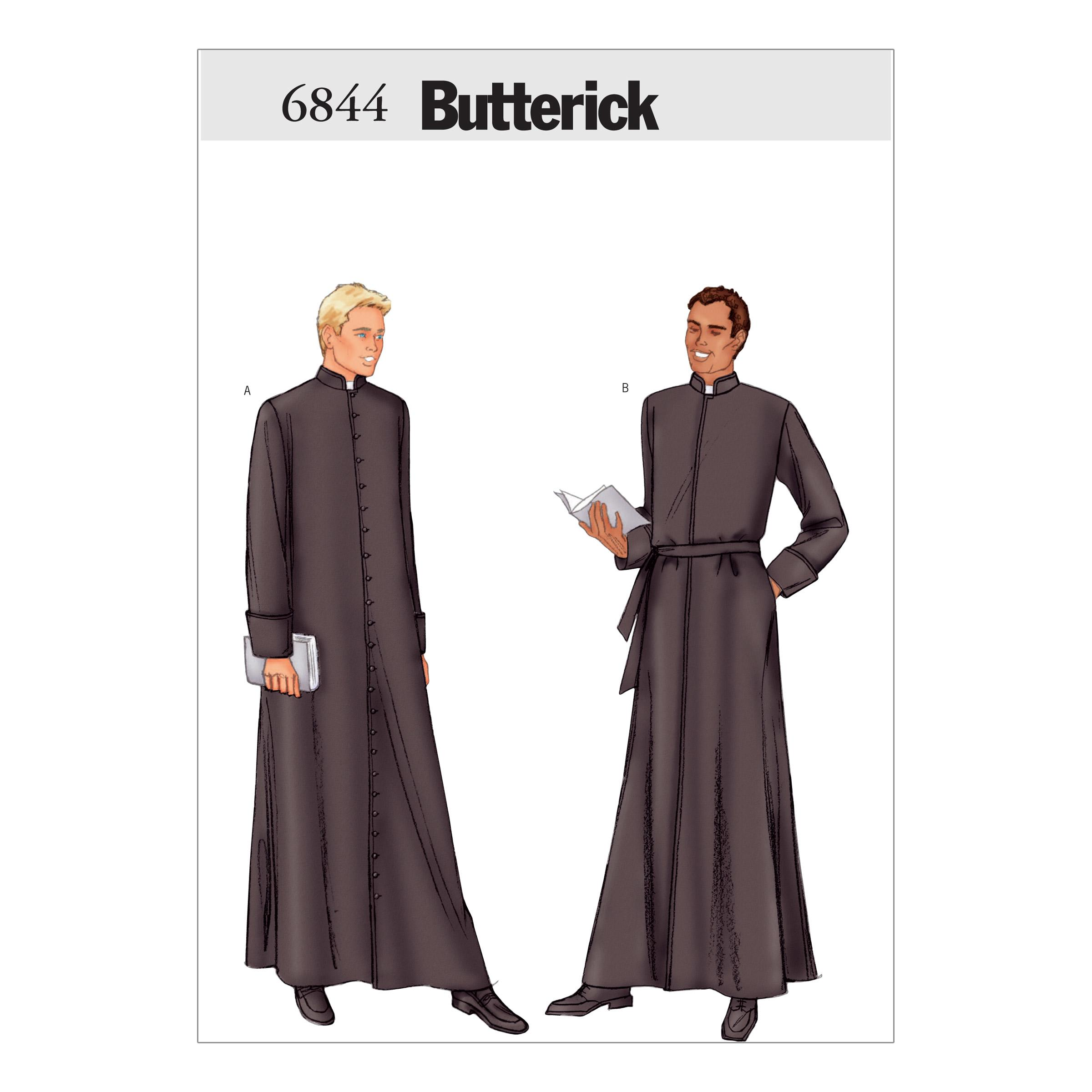 Butterick B6844 Men's Robe