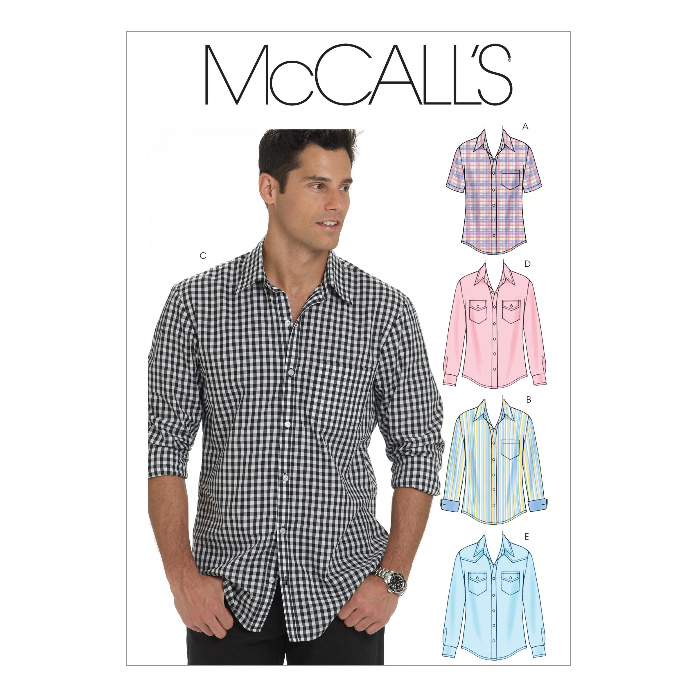 McCalls M6044 Men, Men/Boys
