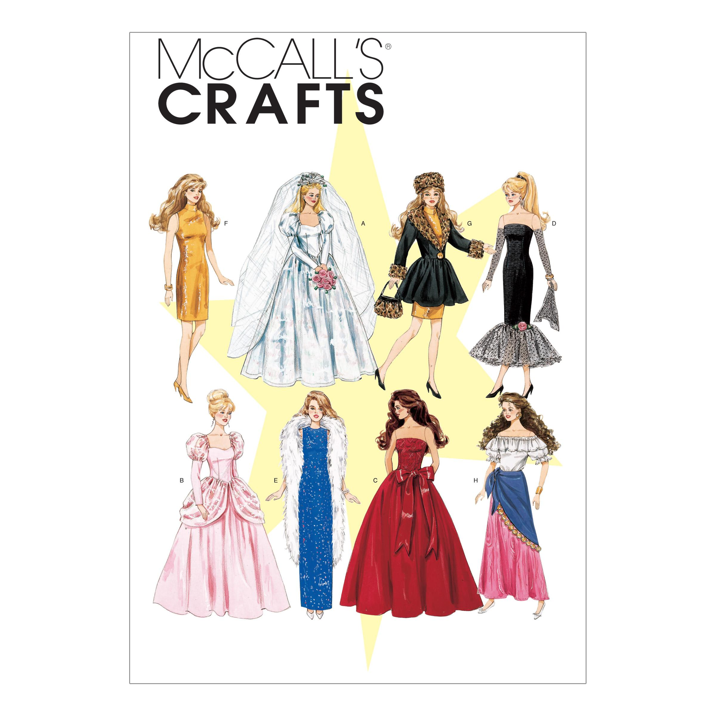 McCalls M6232 Crafts/Dolls/Pets