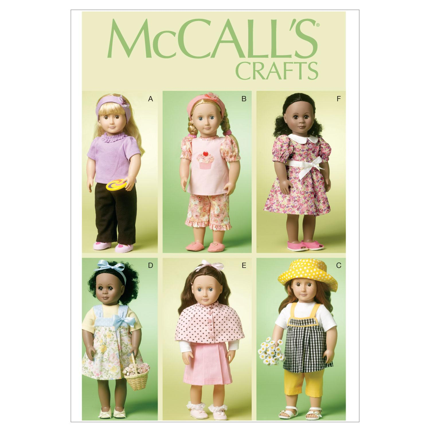 McCalls M6526 Crafts/Dolls/Pets
