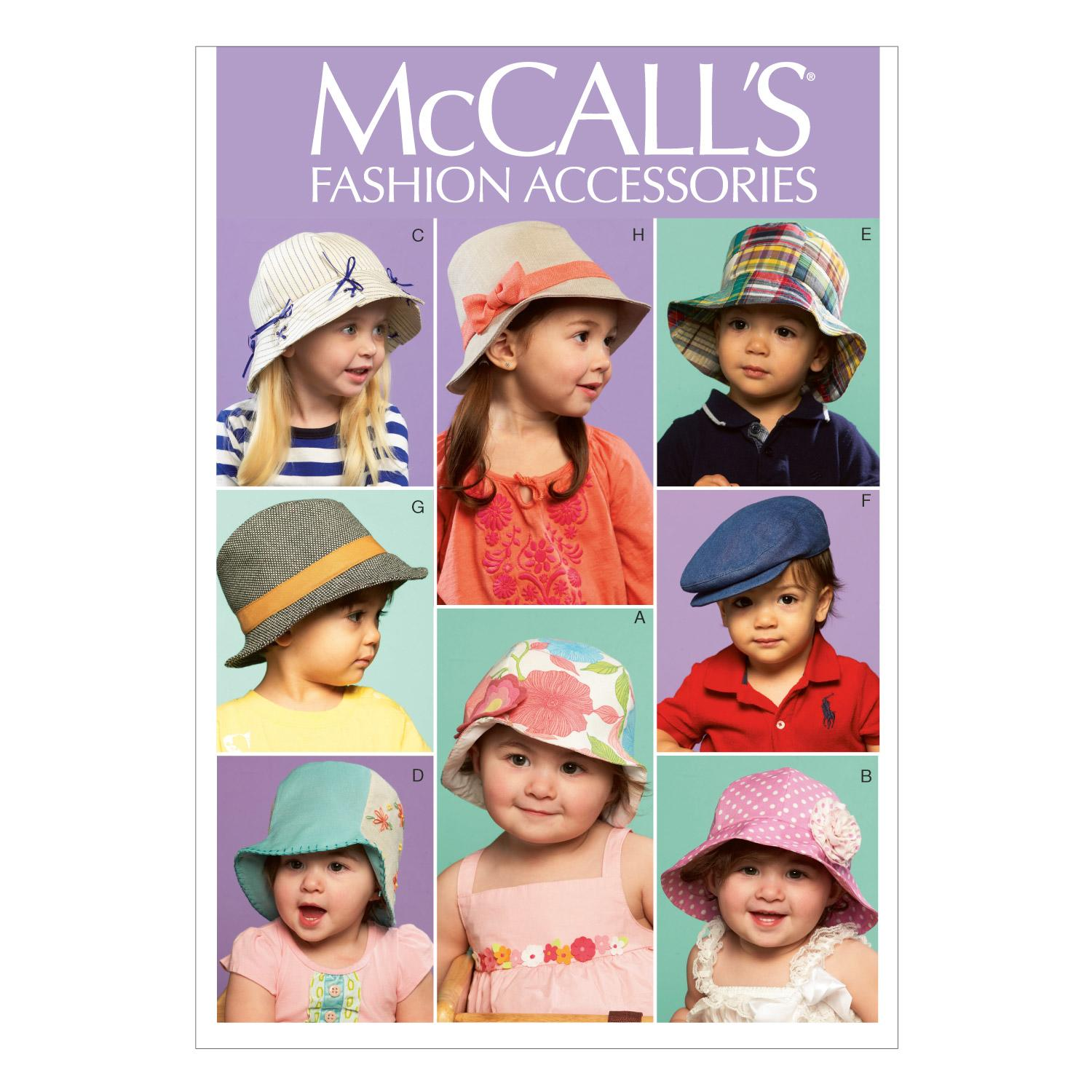 McCalls M6762 Accessories, Infants/Toddlers