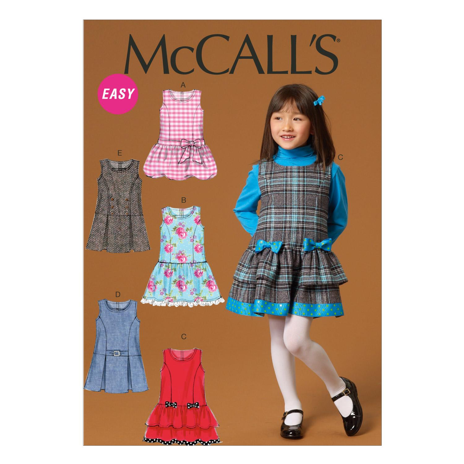 McCalls M7008 Children, Girls/Boys