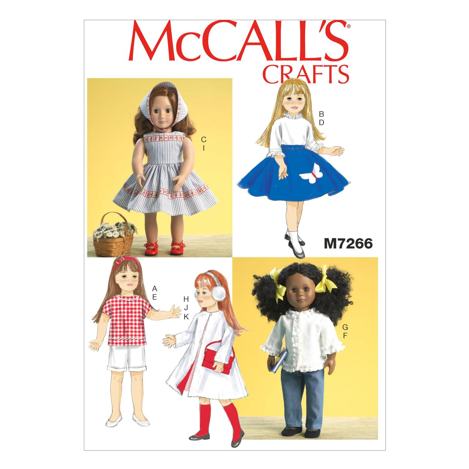 McCalls M7266 Crafts/Dolls/Pets