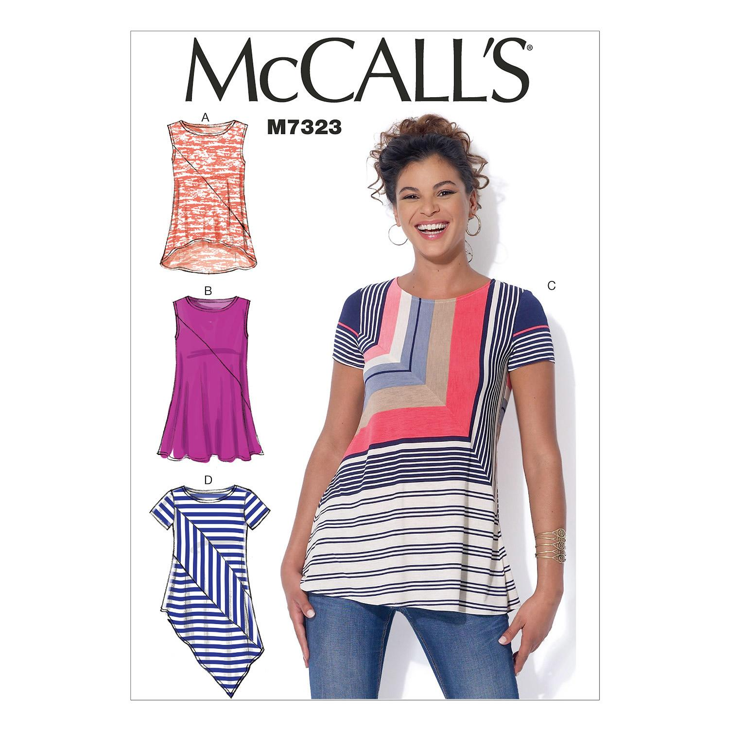McCalls M7323 Tops/Tunics