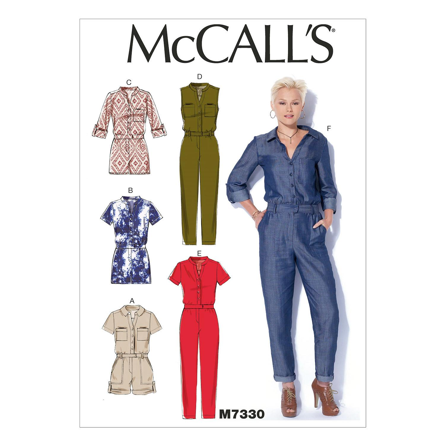 McCalls M7330 Pants/Shorts & Jumpsuits