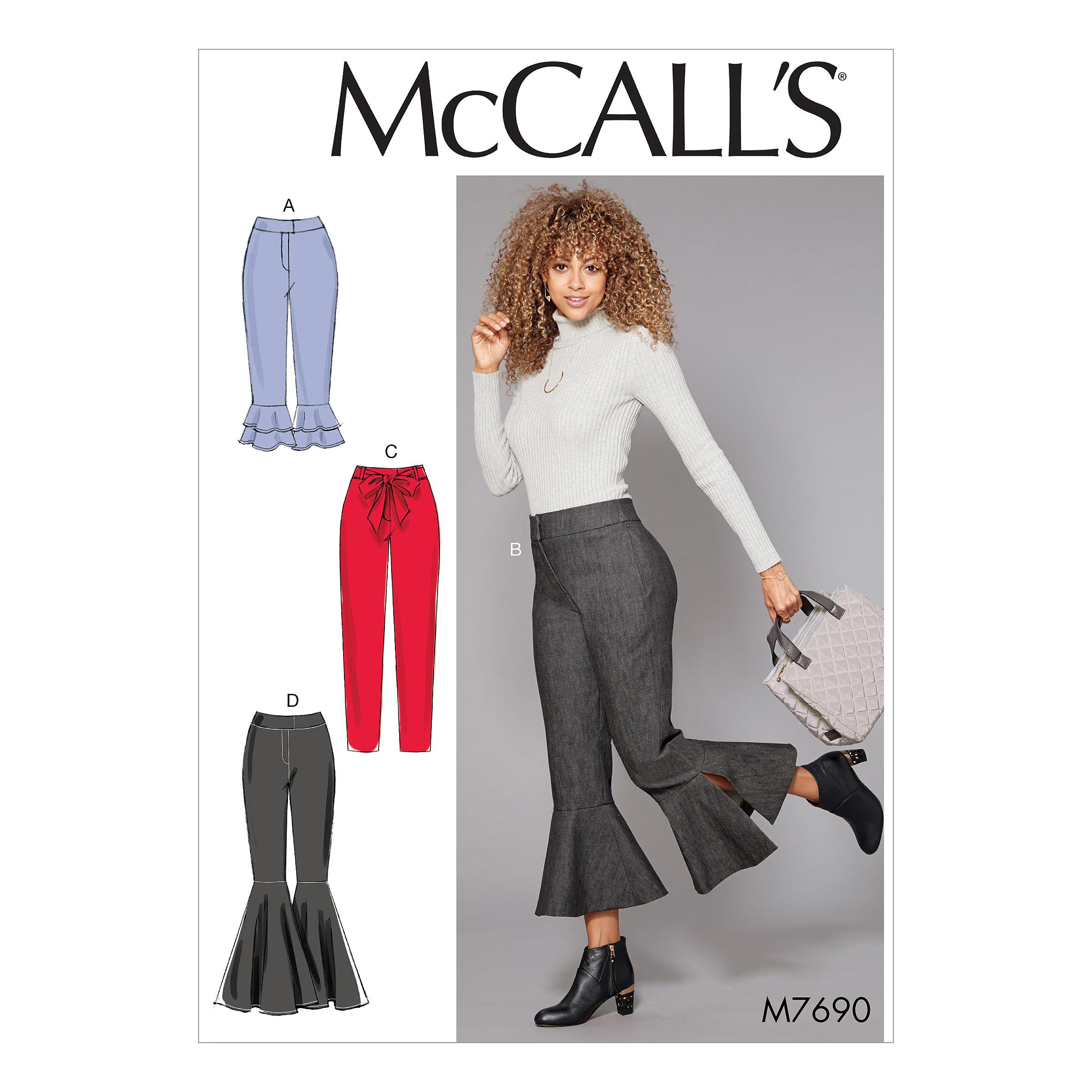 McCalls M7690 Pants, Jumpsuits & Shorts