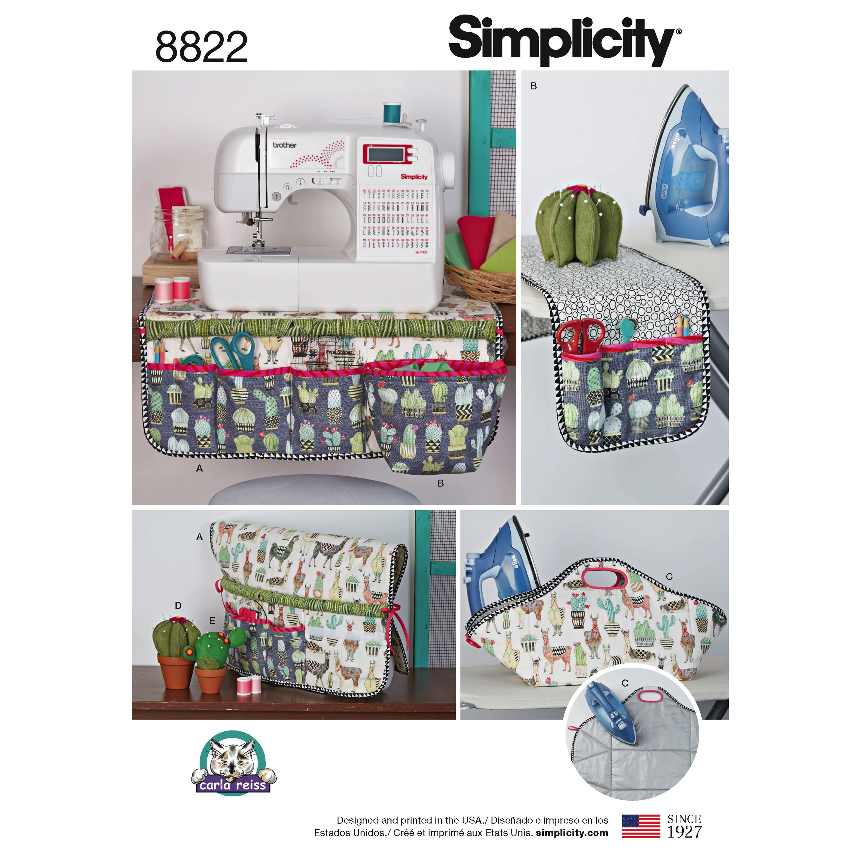 Simplicity S8822 Sewing Accessories