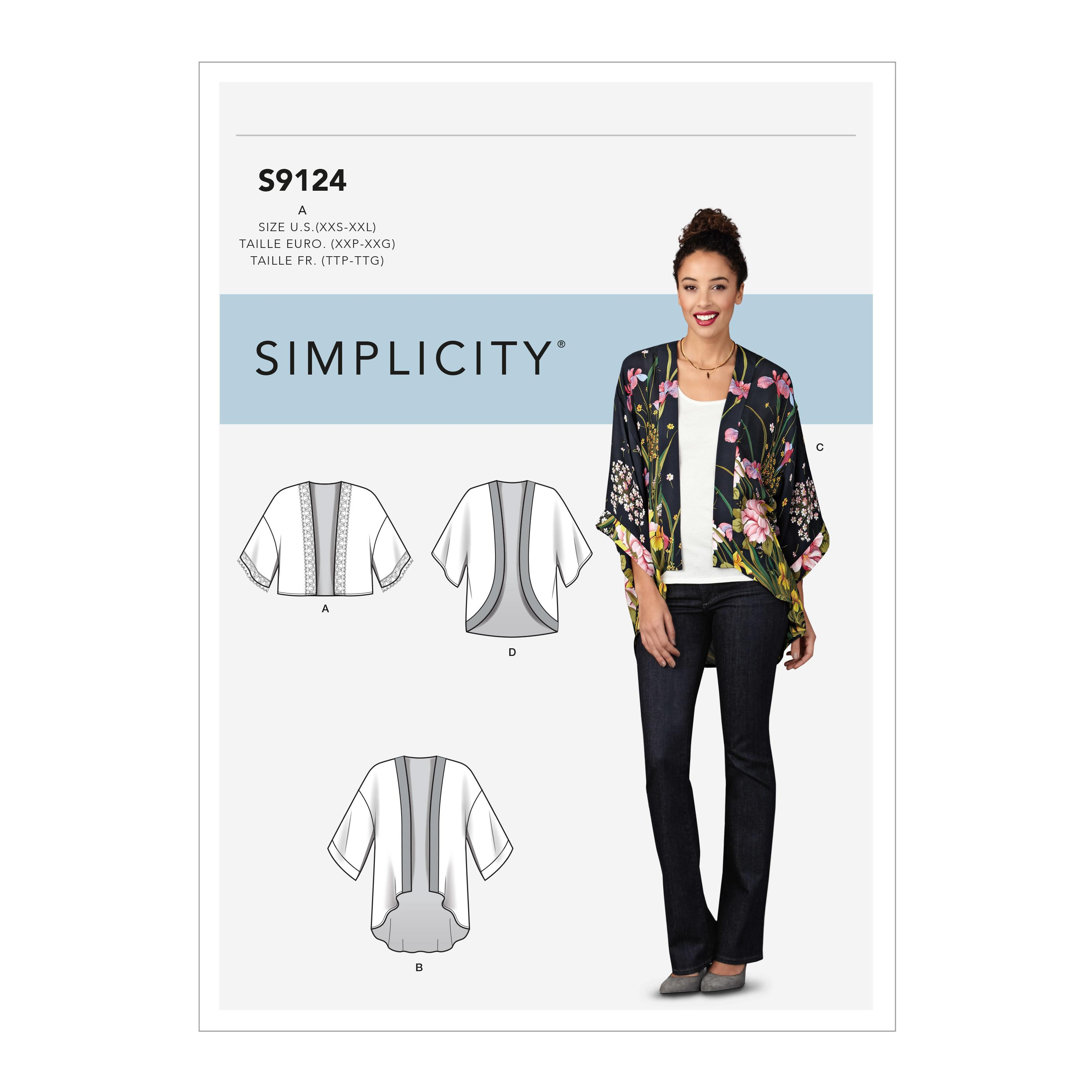Simplicity S9124 Misses' Jackets
