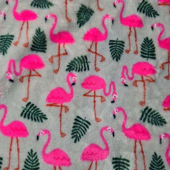 Flamingo Cuddle Fleece