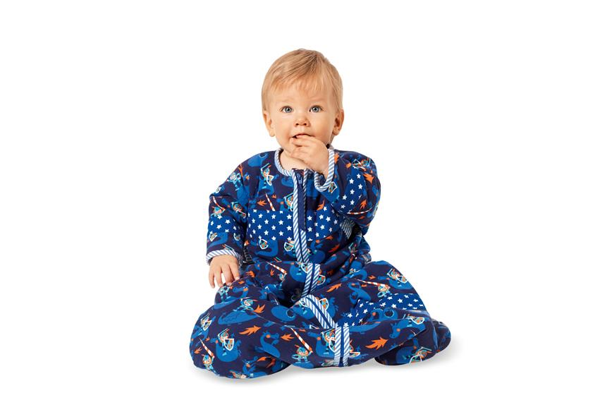 Burda B9382 Babies' Sleeping Bag Sewing Pattern