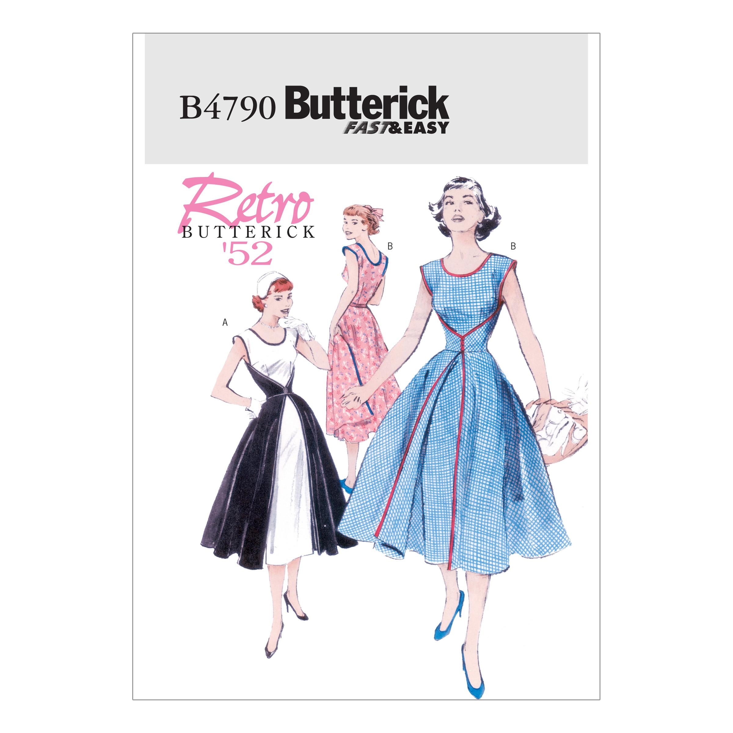 Butterick B4790 Misses' Wrap Dress