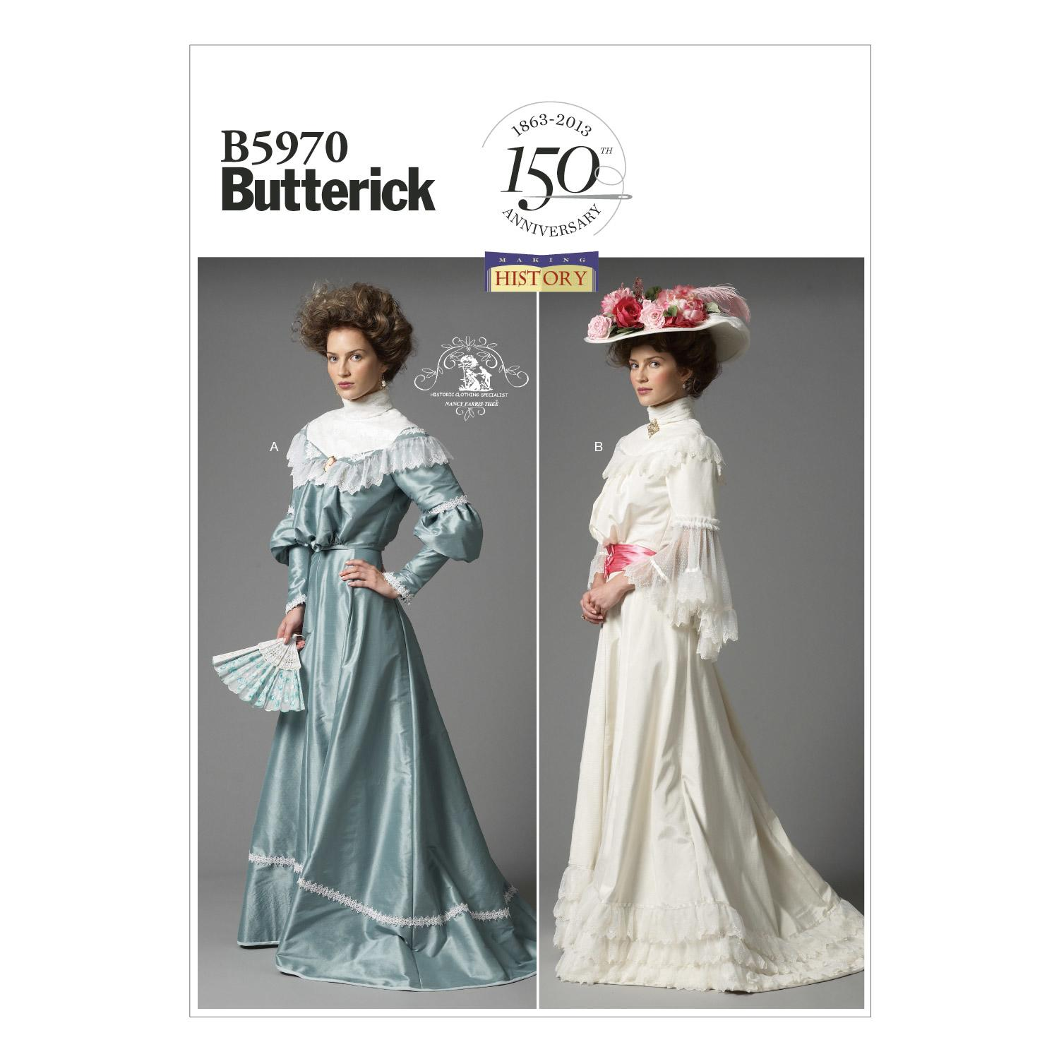 Butterick B5970 Misses' Top and Skirt