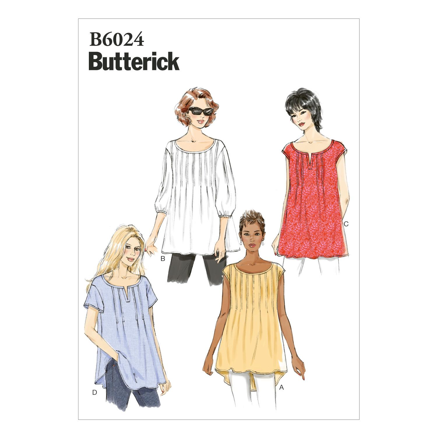 Butterick B6024 Misses' Top