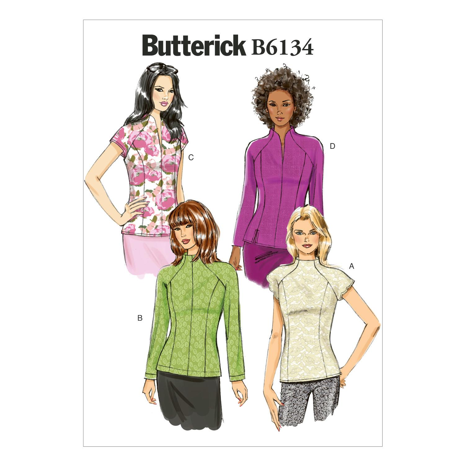 Butterick B6134 Misses' Top