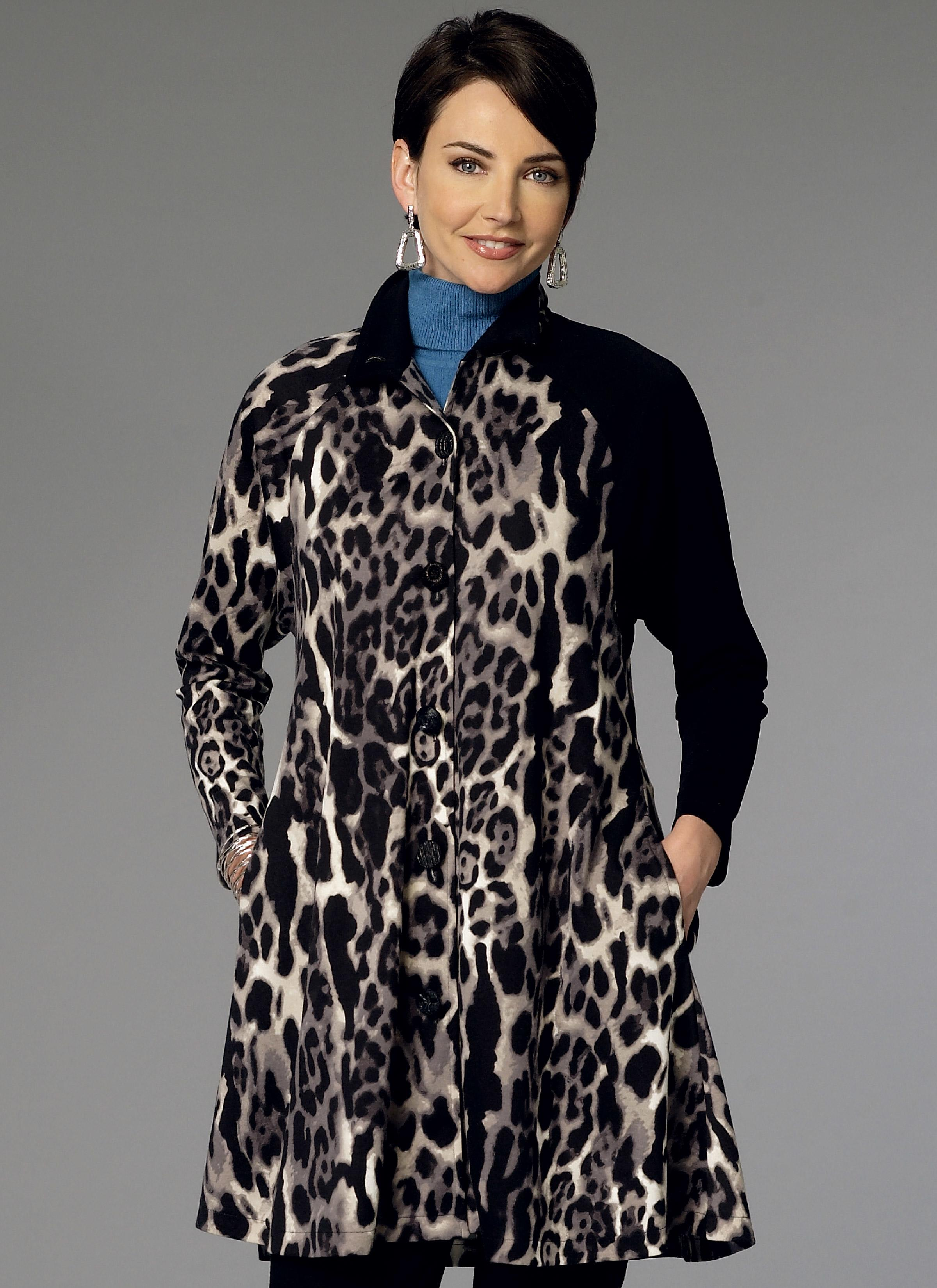 Butterick B6254 Misses' Coat Dress