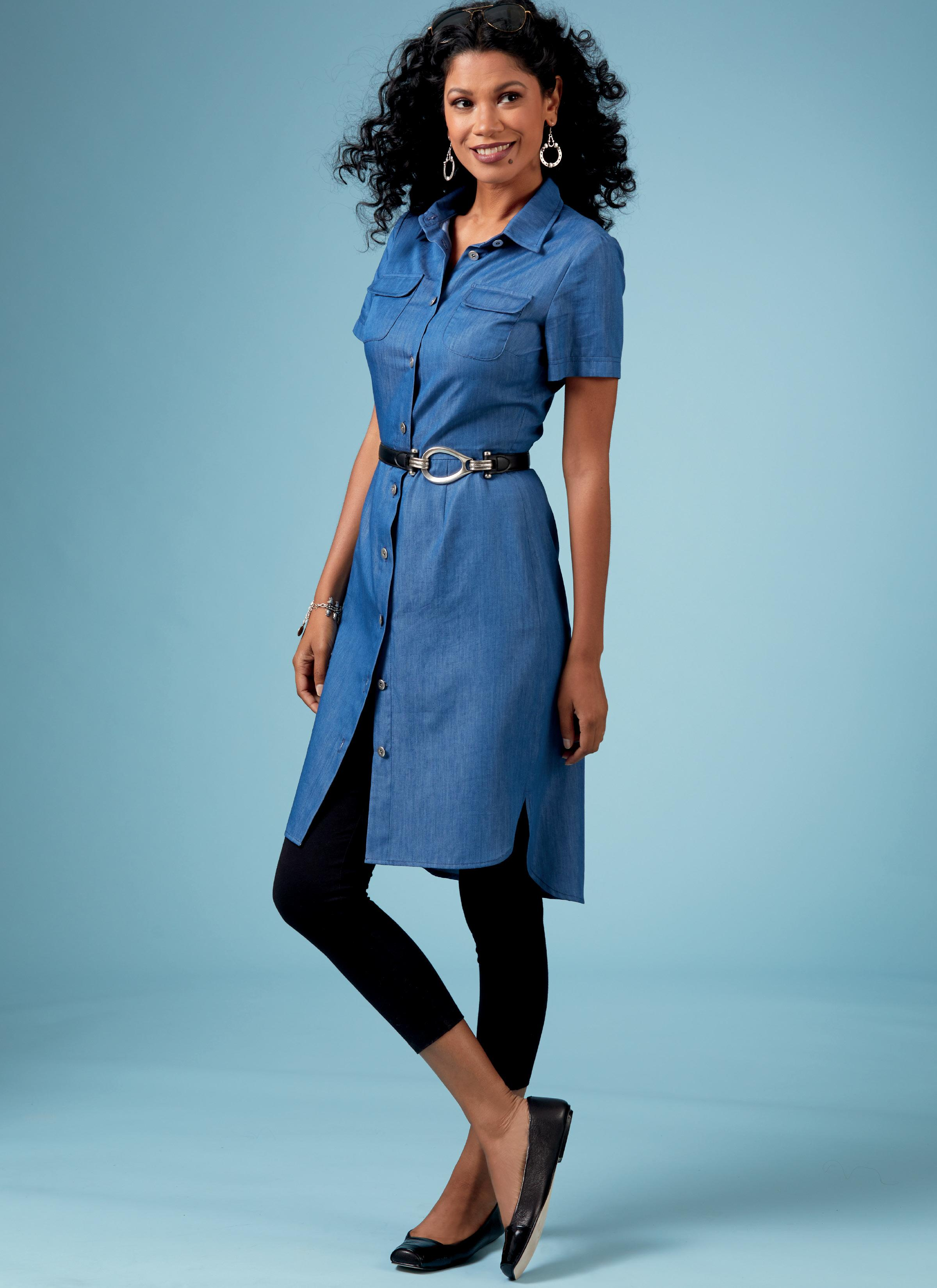 Butterick B6640 Misses'/Misses' Petite Top, Dress and Pants