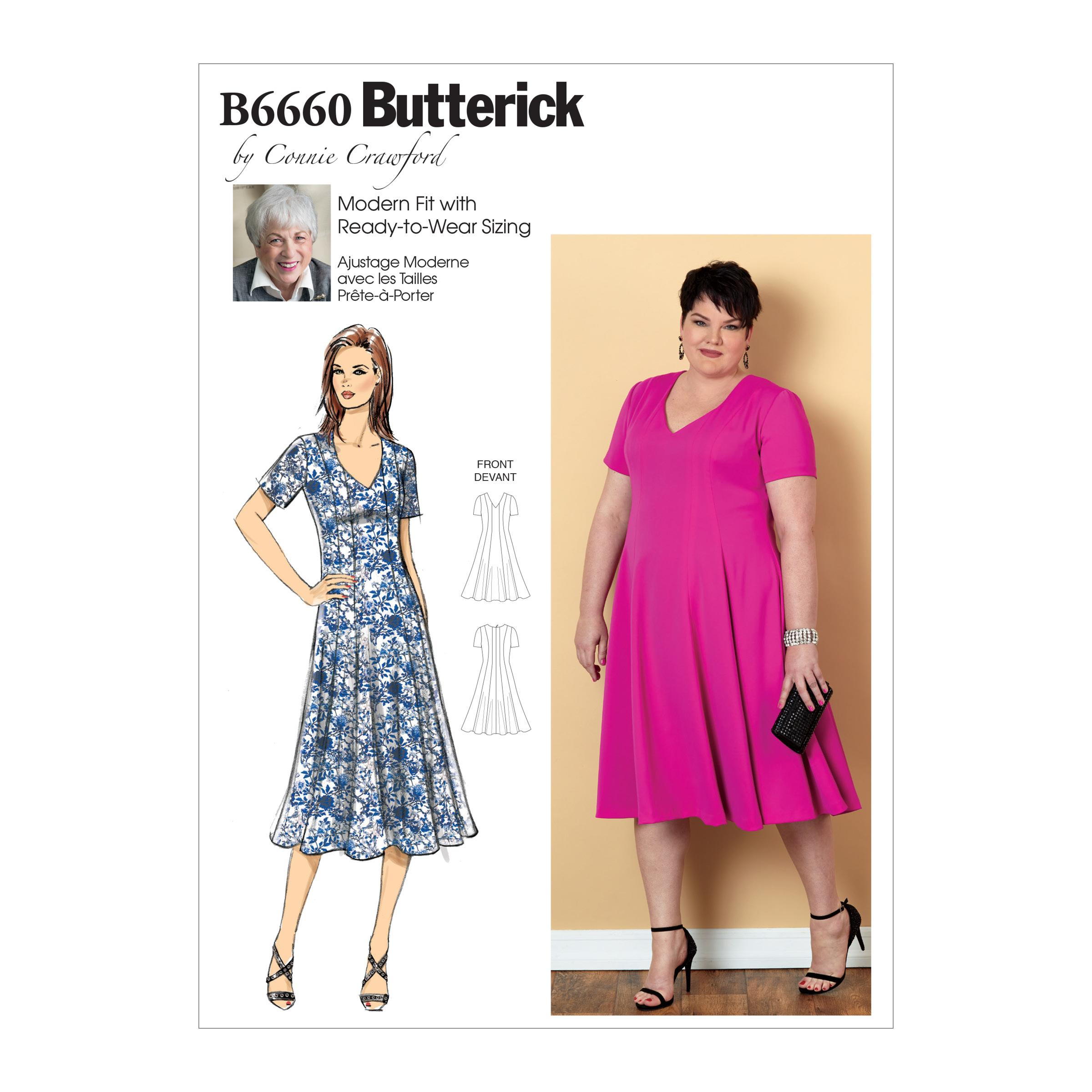 Butterick B6660 Misses'/Women's Dress
