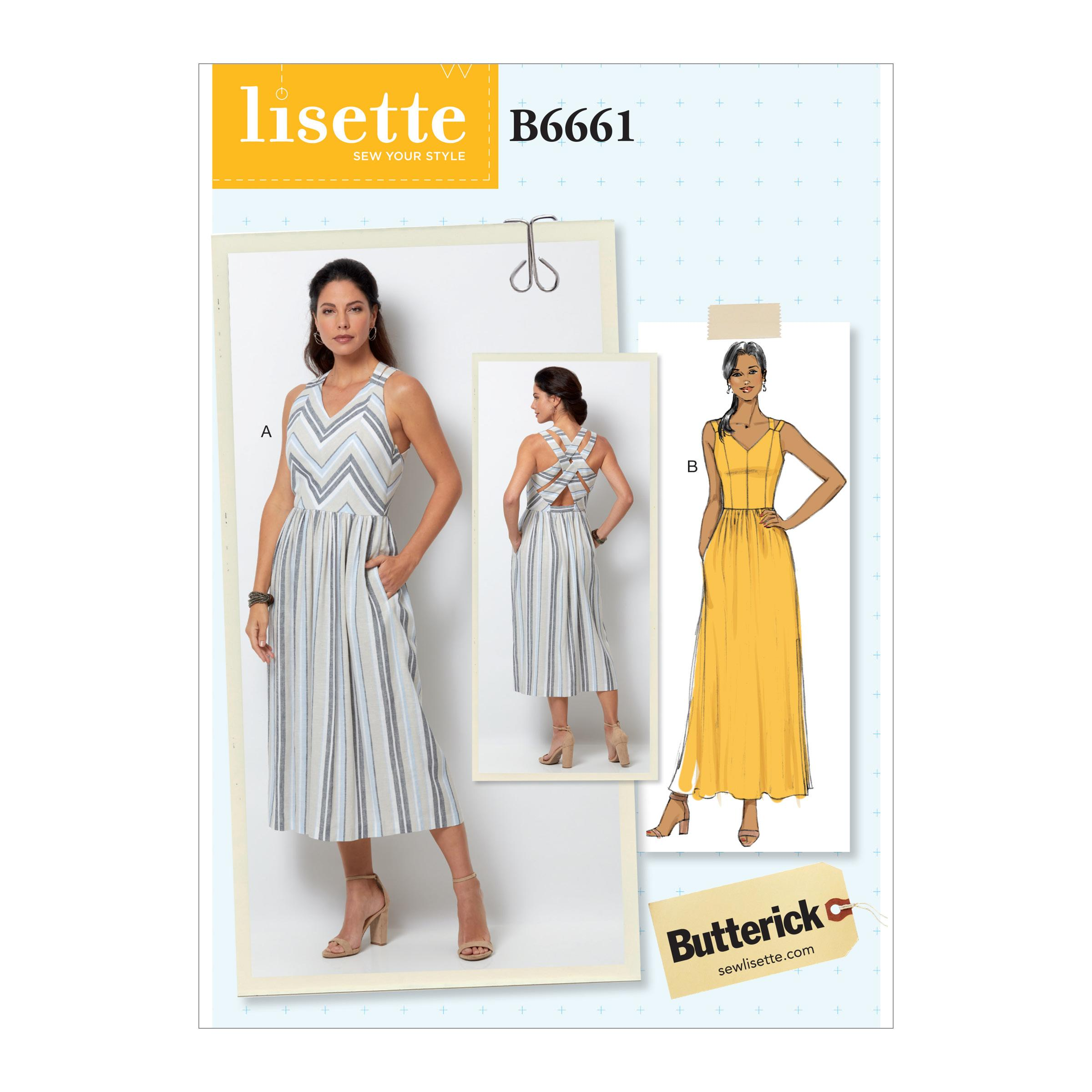Butterick B6661 Misses' Dress