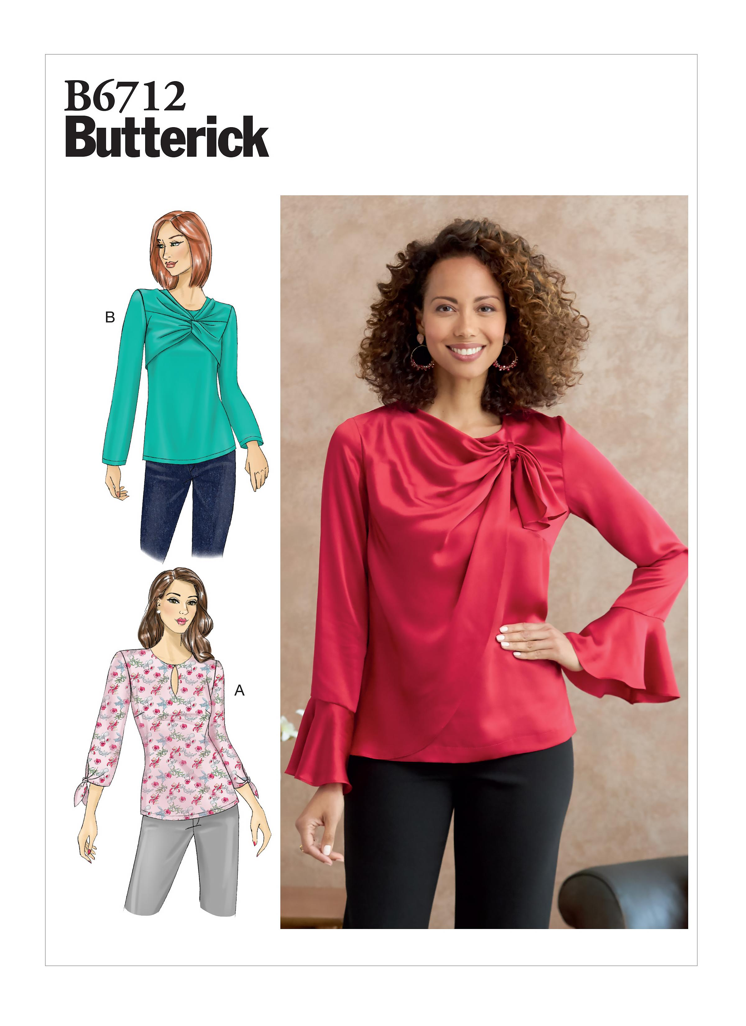 Butterick B6712 Misses' Top