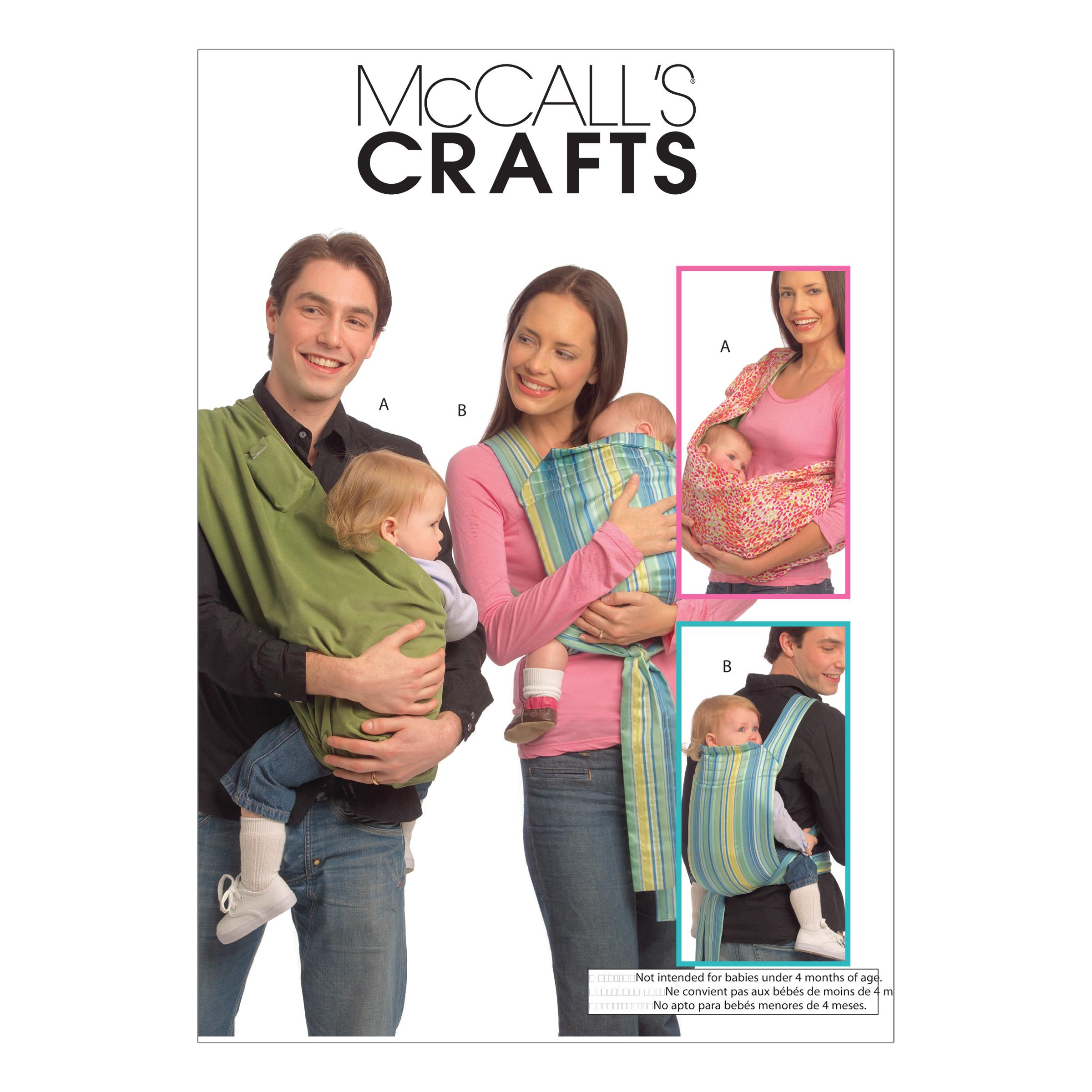 McCalls M5678 Crafts/Dolls/Pets, Infants/Toddlers