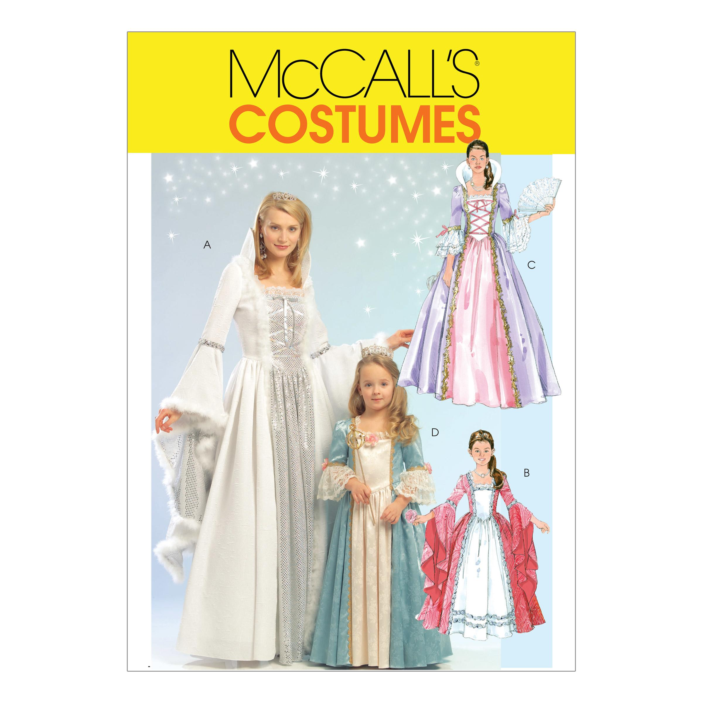 McCalls M5731 Costumes, Halloween