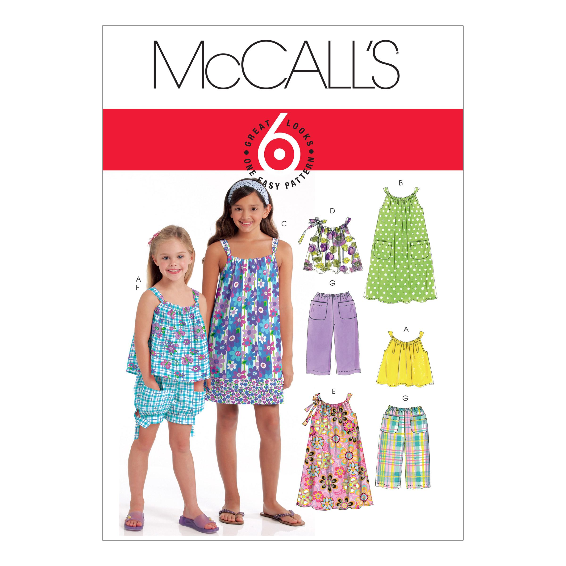 McCalls M5797 Children, Girls/Boys